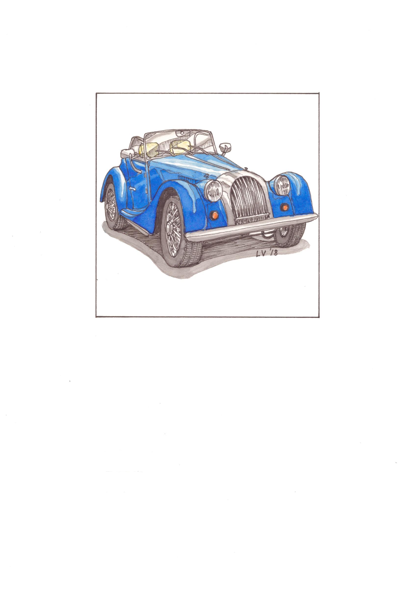 <span class=&#34;link fancybox-details-link&#34;><a href=&#34;/artworks/2252-leonora-venter-1963-morgan-plus4-2018/&#34;>View Detail Page</a></span><div class=&#34;artist&#34;><strong>Leonora Venter</strong></div> <div class=&#34;title&#34;><em>1963 Morgan Plus4</em>, 2018</div> <div class=&#34;medium&#34;>Coloured Ink On Paper</div> <div class=&#34;dimensions&#34;>14.5cm x 10.5cm</div><div class=&#34;price&#34;>R600.00</div>