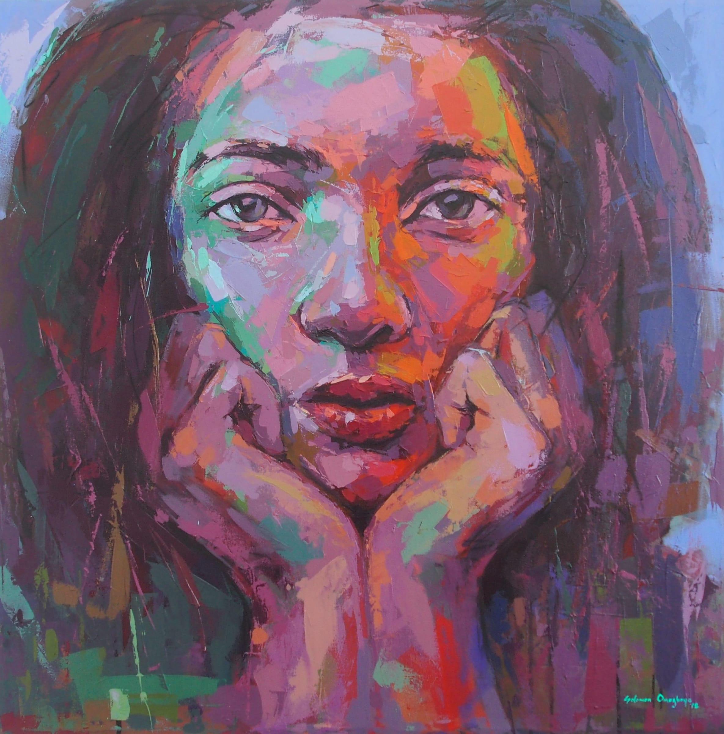 <span class=&#34;link fancybox-details-link&#34;><a href=&#34;/artworks/categories/121/2012-solomon-omogboye-reflection-2-the-gaze-2018/&#34;>View Detail Page</a></span><div class=&#34;artist&#34;><strong>Solomon Omogboye</strong></div> <div class=&#34;title&#34;><em>Reflection 2 (The Gaze)</em>, 2018</div> <div class=&#34;medium&#34;>Acrylic On Canvas</div> <div class=&#34;dimensions&#34;>130.5cm x 130.5cm</div><div class=&#34;price&#34;>R34,000.00</div>
