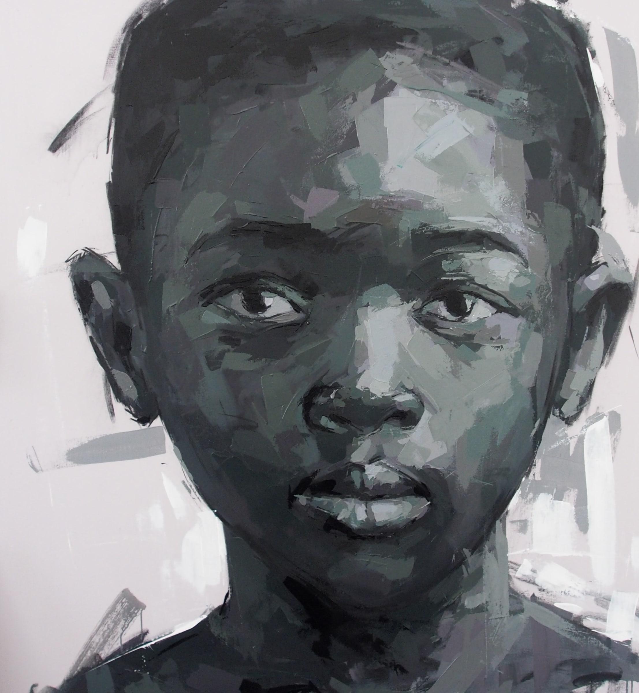 <span class=&#34;link fancybox-details-link&#34;><a href=&#34;/artists/39-solomon-omogboye/works/2015-solomon-omogboye-tender-gaze-2018/&#34;>View Detail Page</a></span><div class=&#34;artist&#34;><strong>Solomon Omogboye</strong></div> <div class=&#34;title&#34;><em>Tender Gaze</em>, 2018</div> <div class=&#34;medium&#34;>Acrylic On Canvas</div> <div class=&#34;dimensions&#34;>143.5cm x 159.5cm (164.4cm x 180.6cm framed)</div>