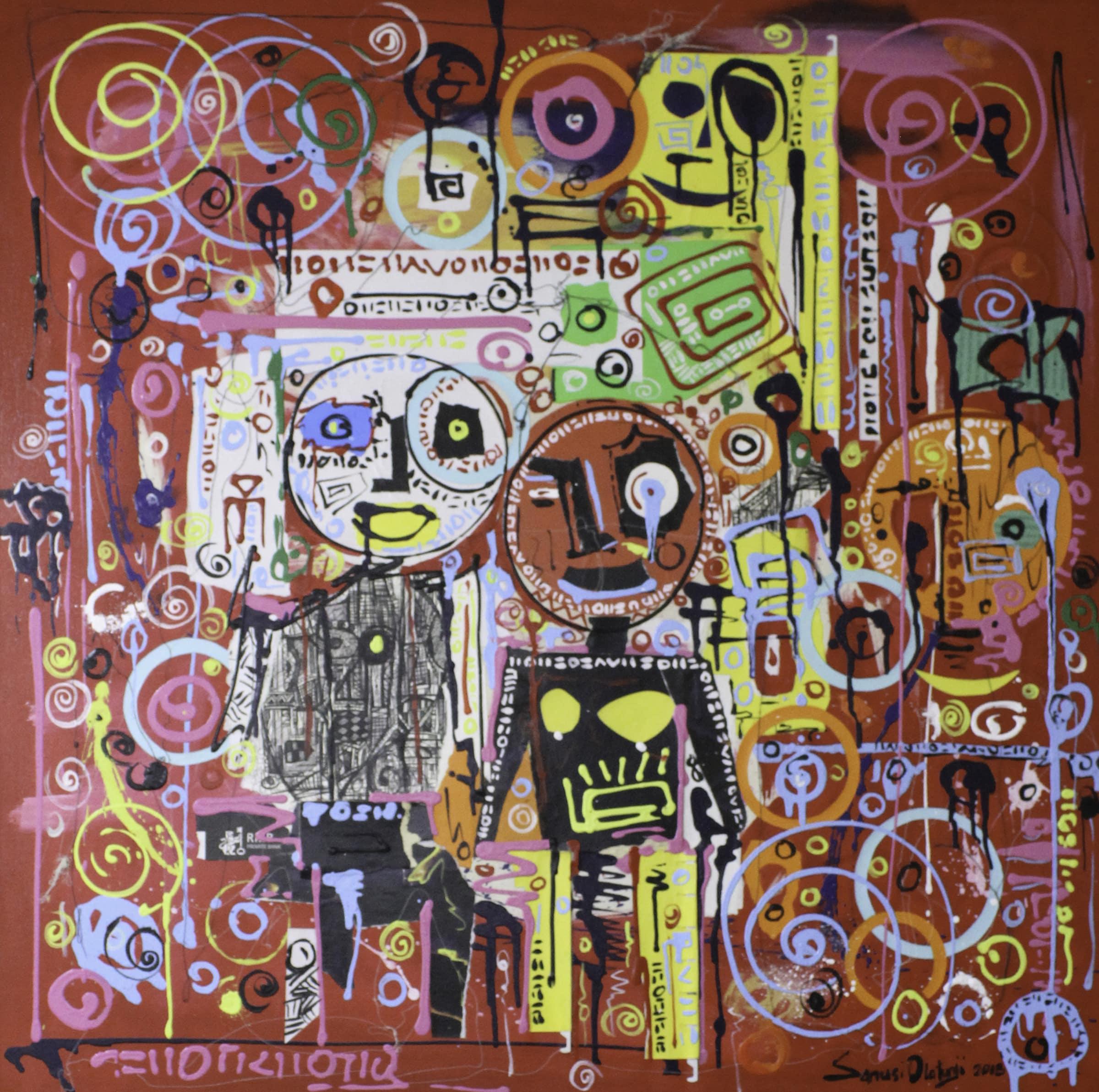 <span class=&#34;link fancybox-details-link&#34;><a href=&#34;/artists/36-olatunji-sanusi/works/1345-olatunji-sanusi-best-friends-2-2018/&#34;>View Detail Page</a></span><div class=&#34;artist&#34;><strong>Olatunji Sanusi</strong></div> <div class=&#34;title&#34;><em>Best Friends 2</em>, 2018</div> <div class=&#34;medium&#34;>Mixed Media </div> <div class=&#34;dimensions&#34;>91cm x 91cm</div><div class=&#34;price&#34;>R13,000.00</div>