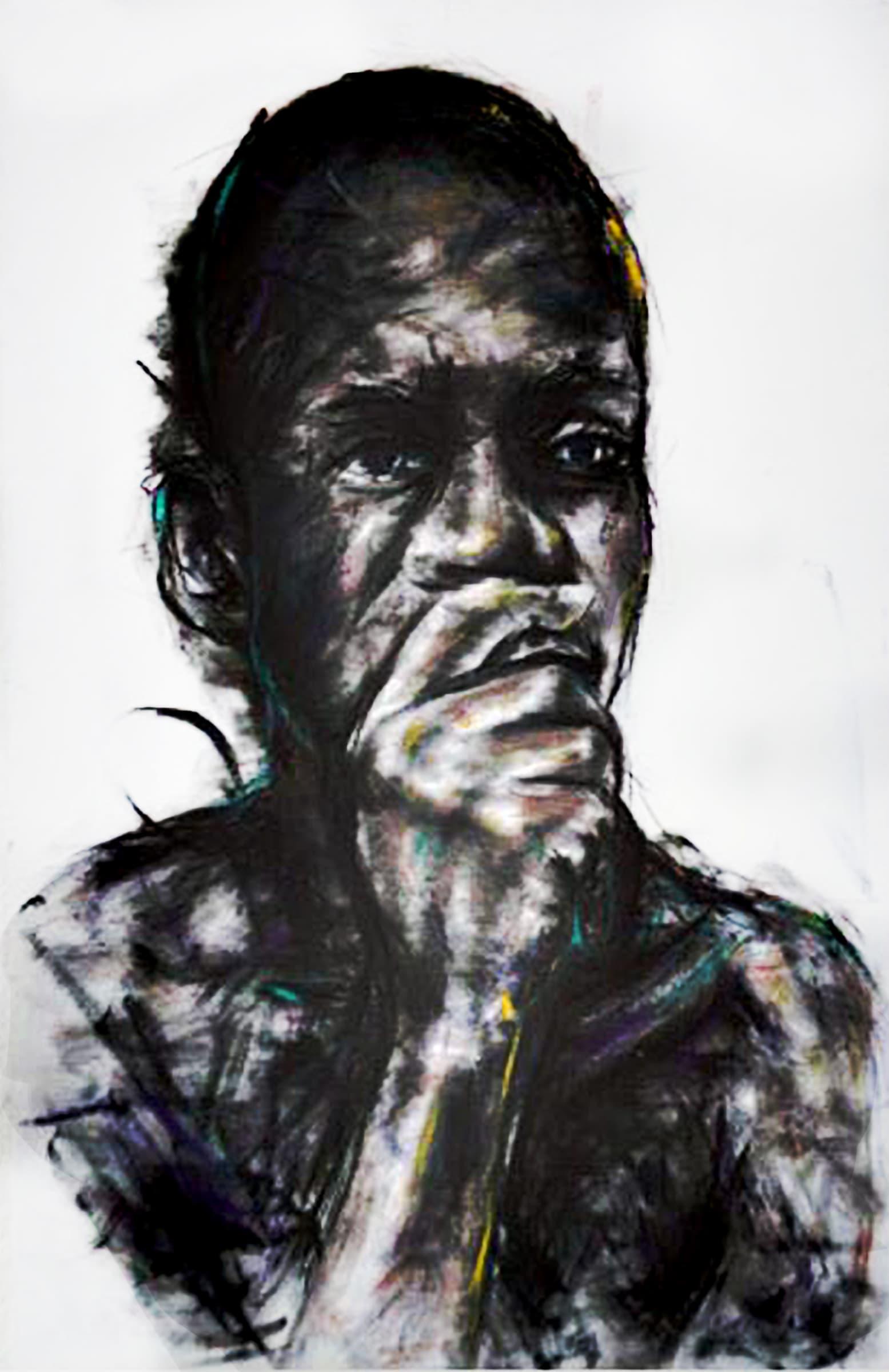 <span class=&#34;link fancybox-details-link&#34;><a href=&#34;/artists/89-mlamuli-mkhwanazi/works/1445-mlamuli-mkhwanazi-loud-then-words-man-2015/&#34;>View Detail Page</a></span><div class=&#34;artist&#34;><strong>Mlamuli Mkhwanazi</strong></div> <div class=&#34;title&#34;><em>Loud Then Words (Man)</em>, 2015</div> <div class=&#34;medium&#34;>Charcoal & Ink On Paper</div> <div class=&#34;dimensions&#34;>118cm x 80cm</div><div class=&#34;price&#34;>R22,000.00</div>