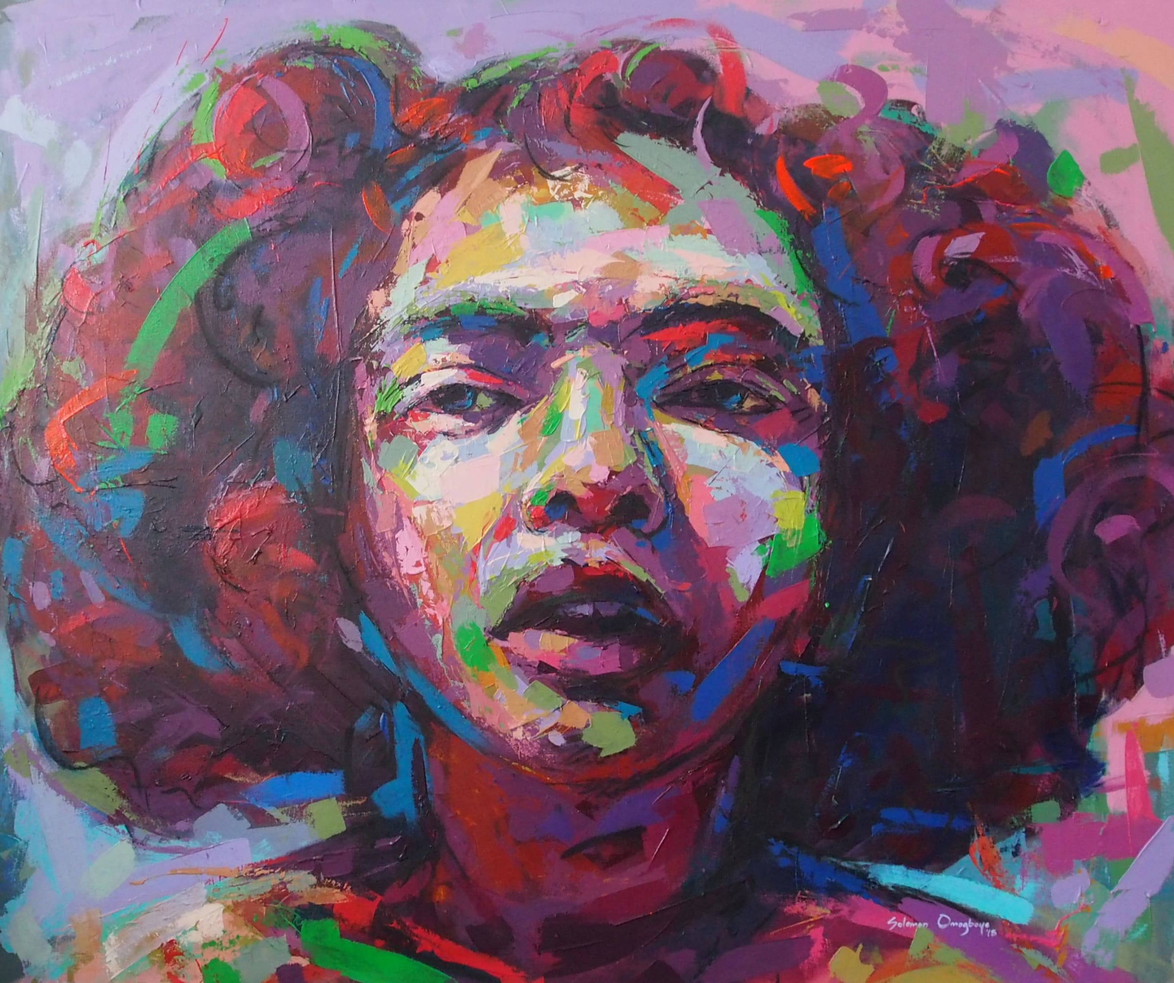 <span class=&#34;link fancybox-details-link&#34;><a href=&#34;/artists/39-solomon-omogboye/works/2013-solomon-omogboye-reflection-3-2018/&#34;>View Detail Page</a></span><div class=&#34;artist&#34;><strong>Solomon Omogboye</strong></div> <div class=&#34;title&#34;><em>Reflection 3</em>, 2018</div> <div class=&#34;medium&#34;>Acrylic On Canvas</div> <div class=&#34;dimensions&#34;>160cm x 133.5cm</div><div class=&#34;price&#34;>R42,600.00</div>