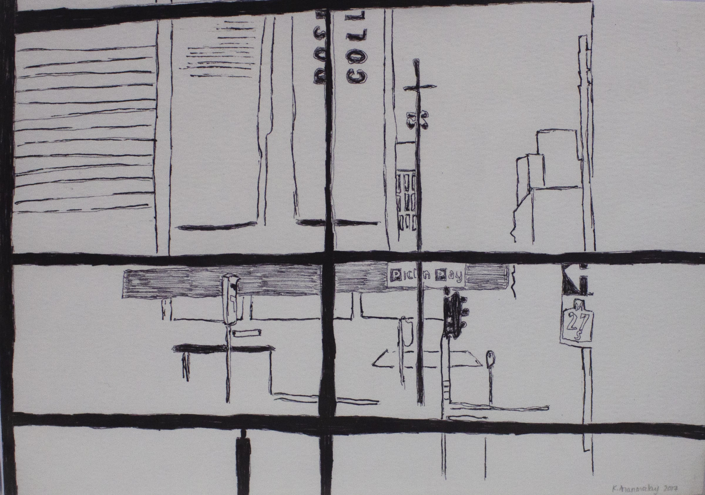 <span class=&#34;link fancybox-details-link&#34;><a href=&#34;/content/viewing-room/50/artworks2562/&#34;>View Detail Page</a></span><div class=&#34;medium&#34;>Ink On Watercolour Paper</div> <div class=&#34;dimensions&#34;>14.8cm x 21cm</div>