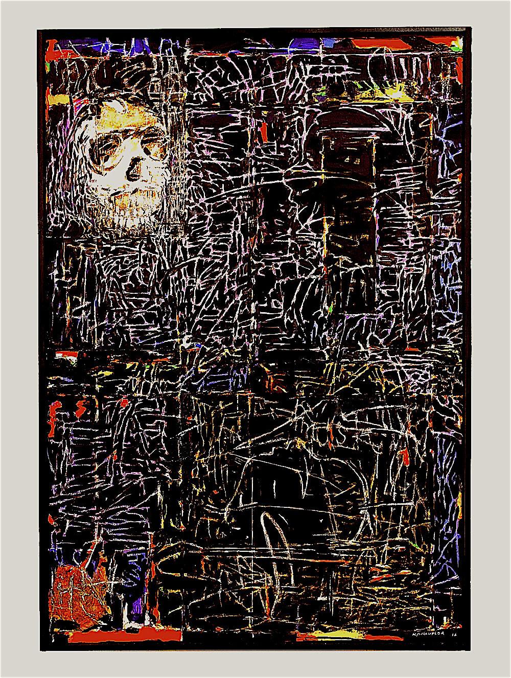 <span class=&#34;link fancybox-details-link&#34;><a href=&#34;/artworks/categories/121/3236-kagiso-pat-mautloa-homo-naledi-2016/&#34;>View Detail Page</a></span><div class=&#34;artist&#34;><strong>Kagiso Pat Mautloa</strong></div> <div class=&#34;title&#34;><em>Homo Naledi</em>, 2016</div> <div class=&#34;medium&#34;>Acrylic On Canvas</div> <div class=&#34;dimensions&#34;>120cm x 80cm</div><div class=&#34;price&#34;>R122,635.00</div>