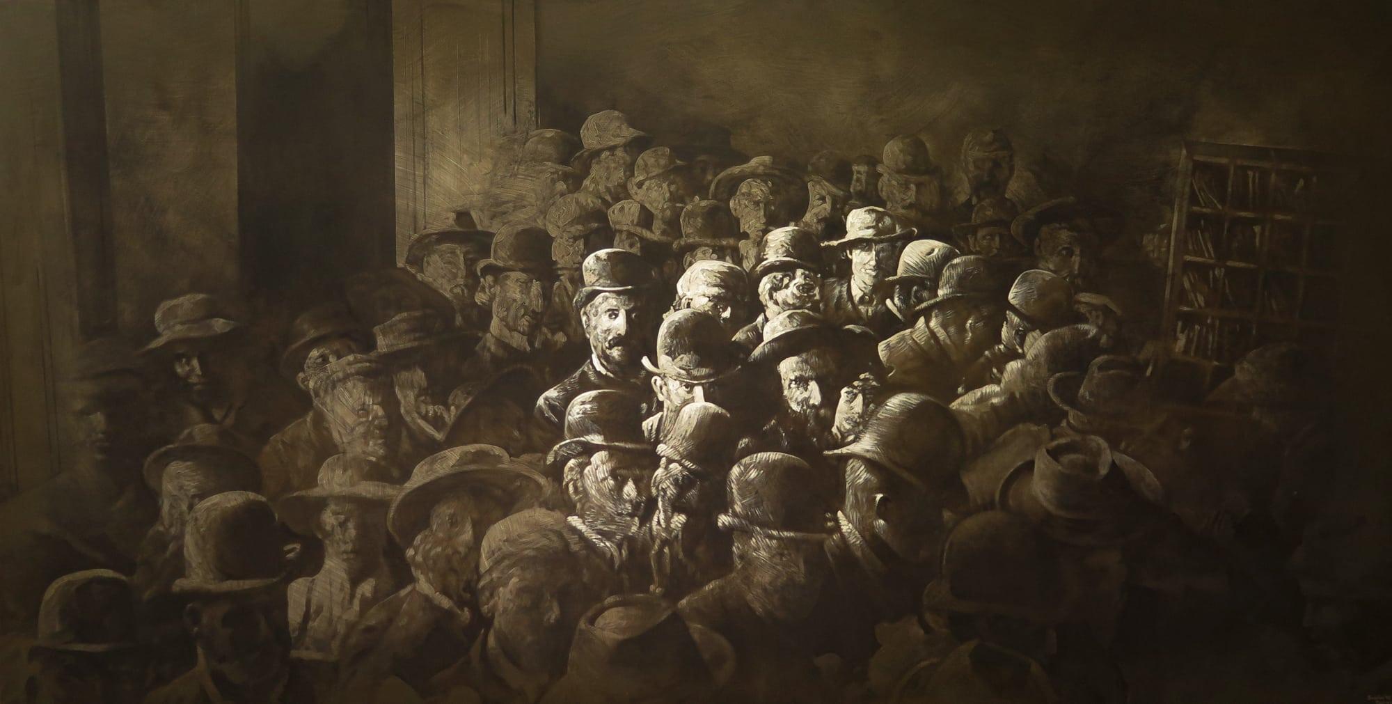<span class=&#34;link fancybox-details-link&#34;><a href=&#34;/artists/73-sascha-%26-tashi-stylianou/works/3180-sascha-tashi-stylianou-joburg-transatlantic-2015/&#34;>View Detail Page</a></span><div class=&#34;artist&#34;><strong>Sascha & Tashi Stylianou</strong></div> <div class=&#34;title&#34;><em>Joburg Transatlantic</em>, 2015</div> <div class=&#34;medium&#34;>Oils & Acrylic Spray On Reclaimed Board & Roof Struts </div> <div class=&#34;dimensions&#34;>184cm x 361cm x 5.5cm</div><div class=&#34;price&#34;>R50,000.00</div>