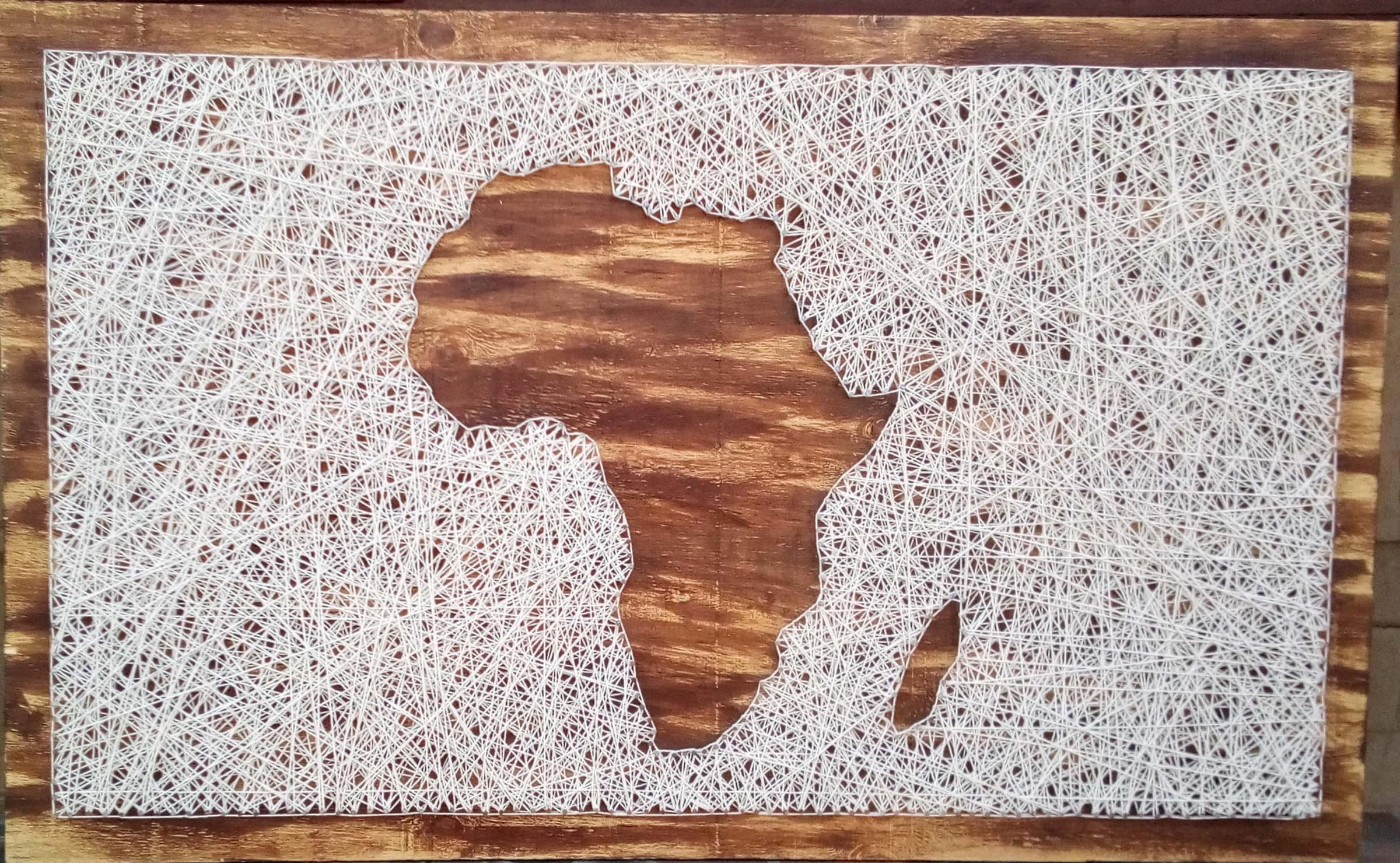 <span class=&#34;link fancybox-details-link&#34;><a href=&#34;/artists/50-lerato-motaung/works/3128-lerato-motaung-africa-2017/&#34;>View Detail Page</a></span><div class=&#34;artist&#34;><strong>Lerato Motaung</strong></div> <div class=&#34;title&#34;><em>Africa</em>, 2017</div> <div class=&#34;medium&#34;>Wood, Nails & String</div> <div class=&#34;dimensions&#34;>80cm x 130cm</div> <div class=&#34;edition_details&#34;>4/15</div><div class=&#34;price&#34;>R7,000.00</div>