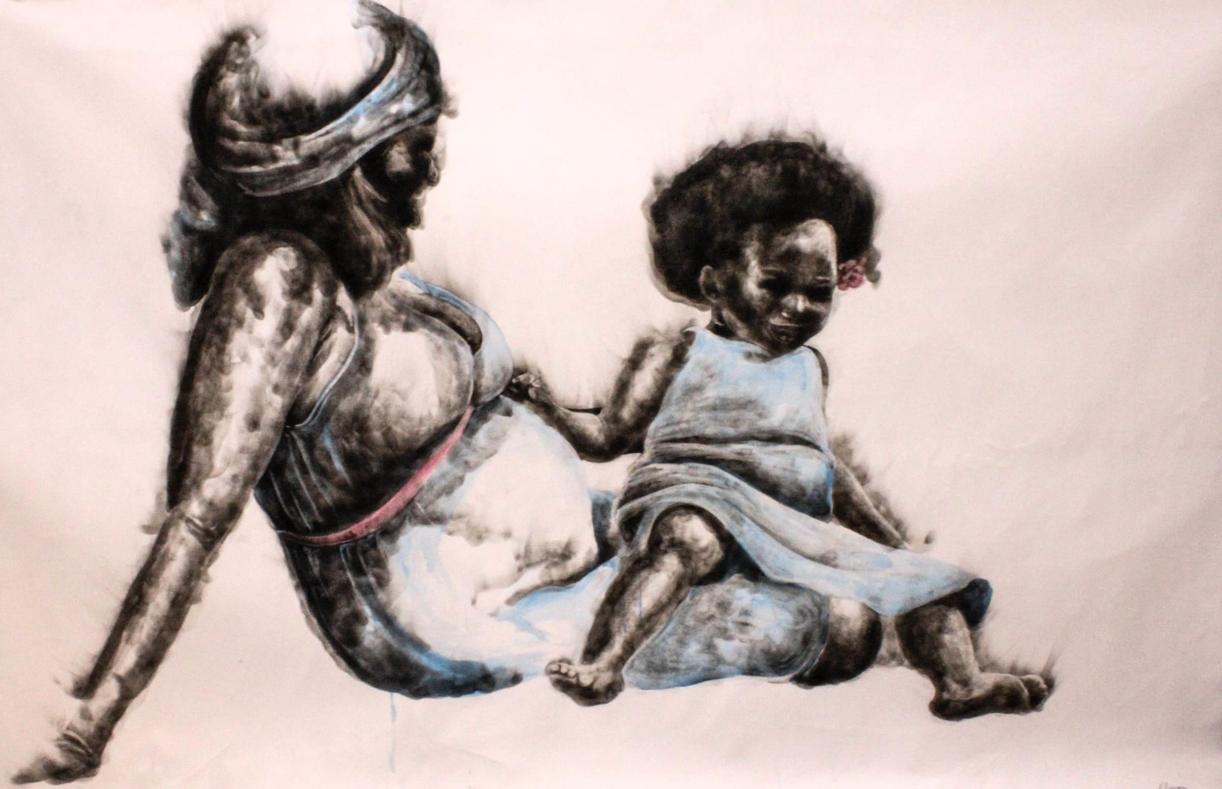 <span class=&#34;link fancybox-details-link&#34;><a href=&#34;/artists/54-azael-langa/works/2174-azael-langa-when-i-become-2018/&#34;>View Detail Page</a></span><div class=&#34;artist&#34;><strong>Azael Langa</strong></div> <div class=&#34;title&#34;><em>When I Become</em>, 2018</div> <div class=&#34;medium&#34;>Smoke And Ink  On Canvas</div> <div class=&#34;dimensions&#34;>160cm x 250cm (181cm x 277.7cm framed)</div>