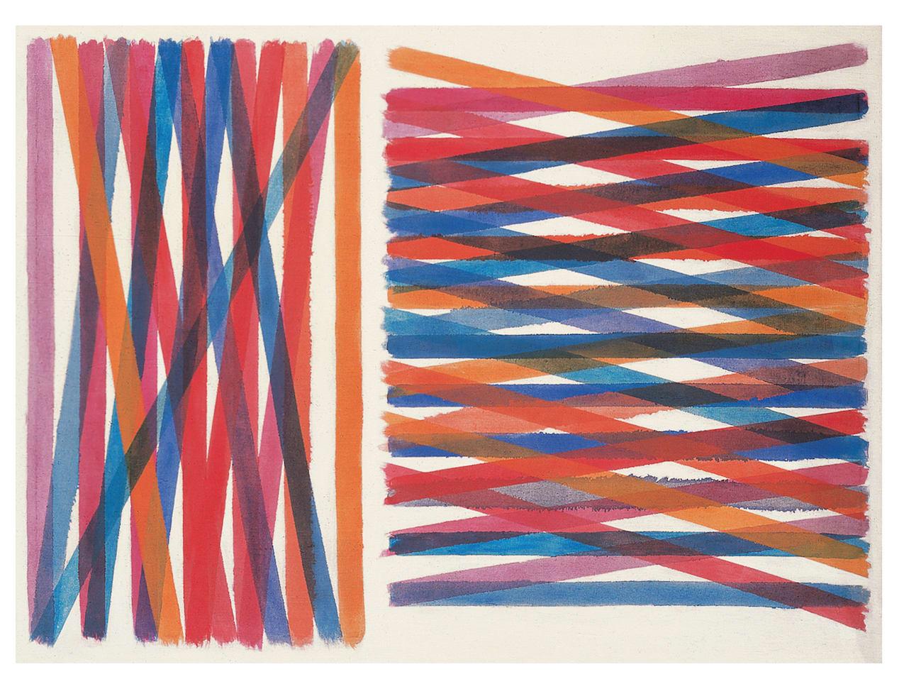 """<span class=""""link fancybox-details-link""""><a href=""""/artists/45-piero-dorazio/works/661-piero-dorazio-un-paso-deslumbrador-1963/"""">View Detail Page</a></span><div class=""""artist""""><strong>Piero Dorazio</strong></div> <div class=""""title""""><em>Un paso deslumbrador </em>, 1963</div> <div class=""""medium"""">oil on canvas</div> <div class=""""dimensions"""">cm 95x128 </div>"""