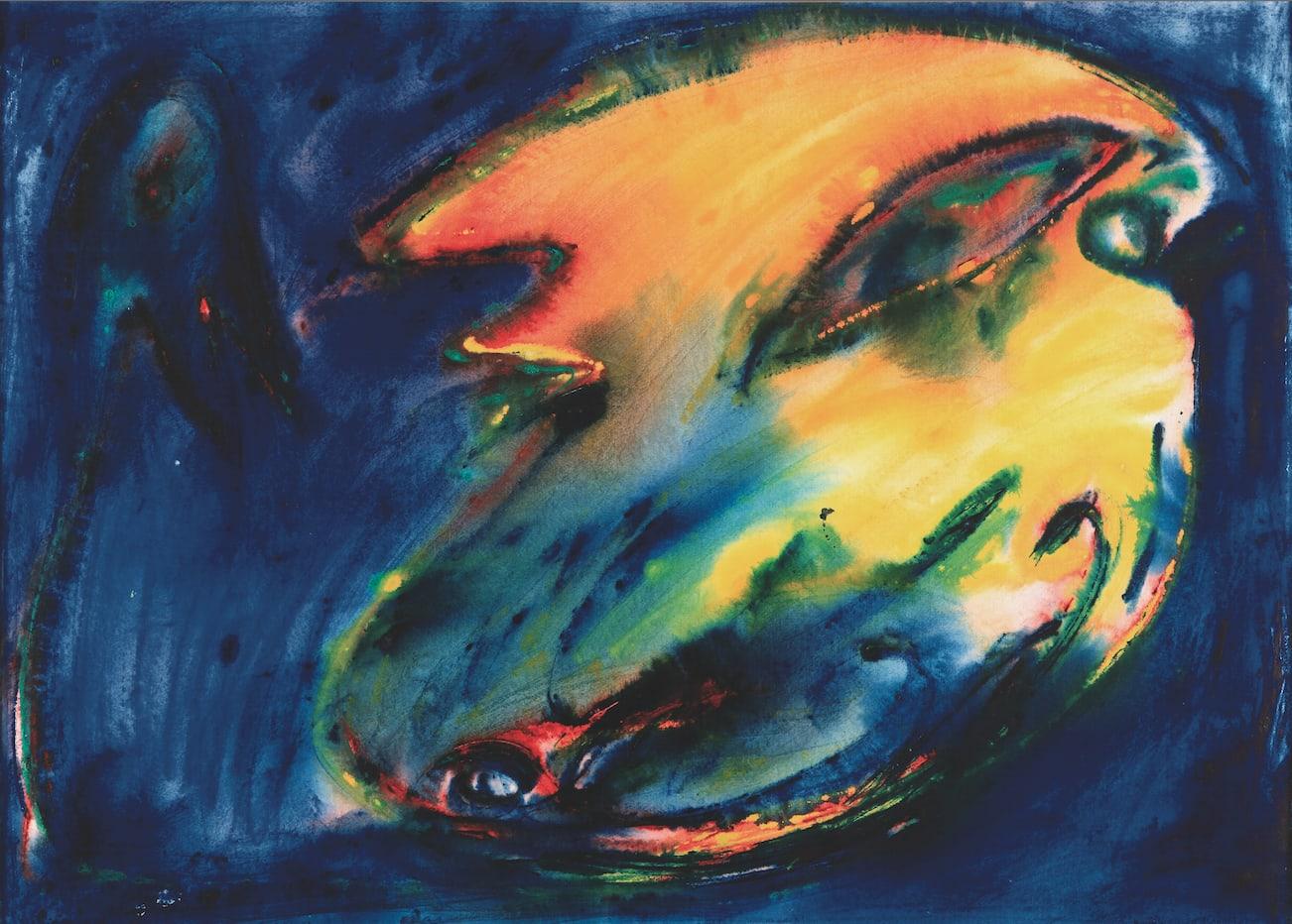 "<span class=""link fancybox-details-link""><a href=""/artists/86-carl-henning-pedersen/works/1094-carl-henning-pedersen-sljennesqi-ashkelon-1979/"">View Detail Page</a></span><div class=""artist""><strong>Carl-henning Pedersen</strong></div> <div class=""title""><em>Sljennesqi, Ashkelon,,, </em>, 1979</div> <div class=""medium"">watercolors</div> <div class=""dimensions"">cm 56x78</div>"