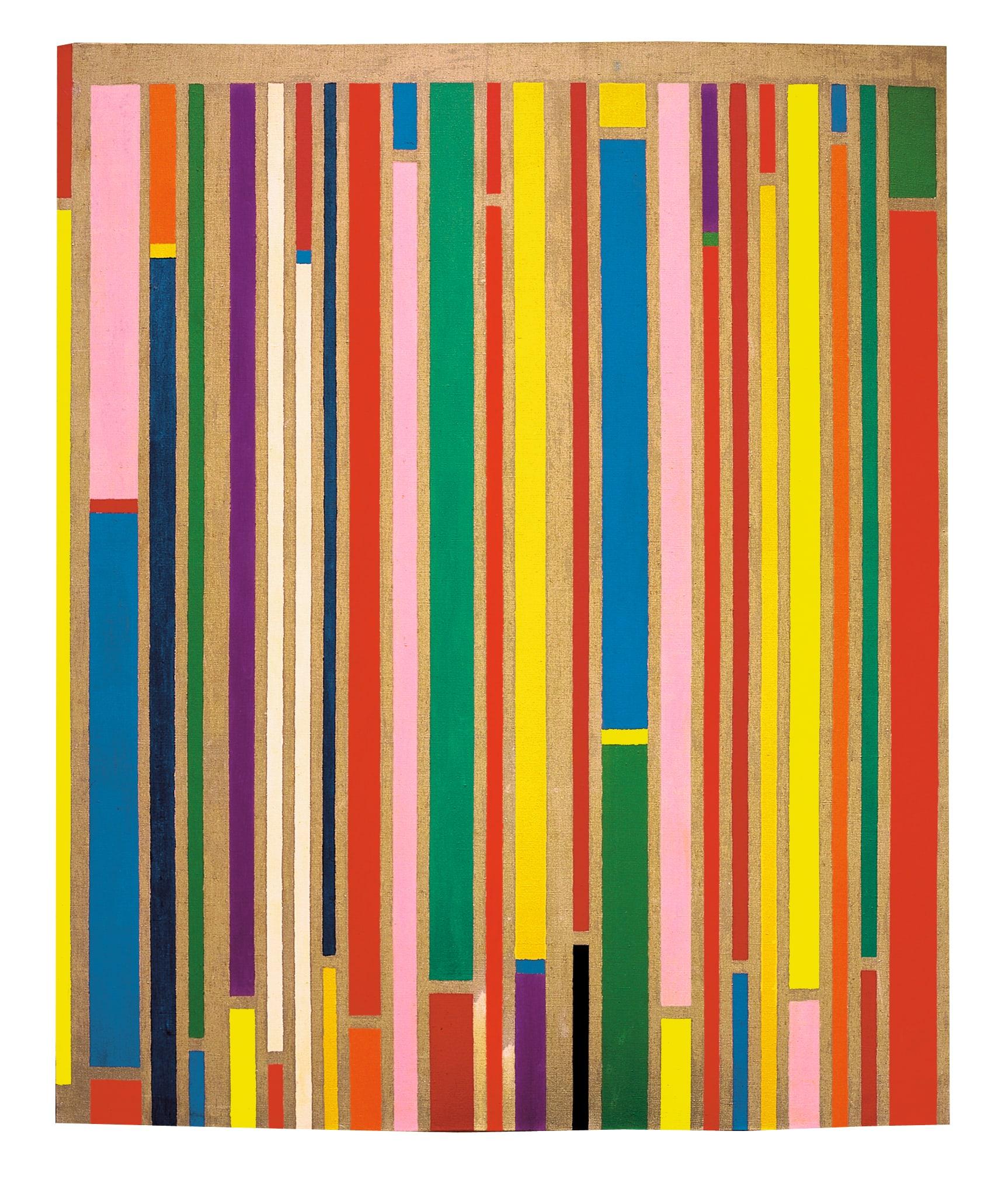 """<span class=""""link fancybox-details-link""""><a href=""""/artists/45-piero-dorazio/works/12-piero-dorazio-linear-1968/"""">View Detail Page</a></span><div class=""""artist""""><strong>Piero Dorazio</strong></div> <div class=""""title""""><em>Linear</em>, 1968</div> <div class=""""medium"""">olio su tela</div> <div class=""""dimensions"""">cm 150 x 125</div>"""