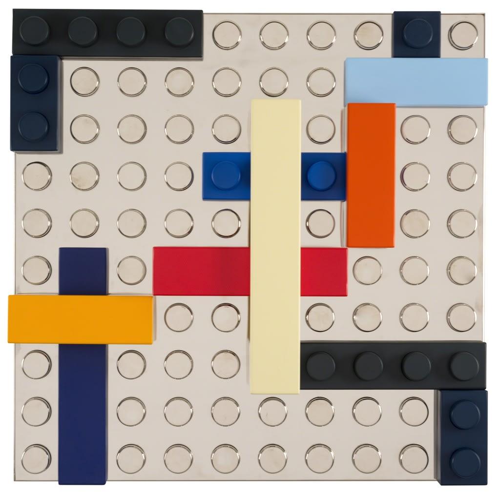 """<span class=""""link fancybox-details-link""""><a href=""""/artists/59-matteo-negri/works/28-matteo-negri-the-v-motiv-2017/"""">View Detail Page</a></span><div class=""""artist""""><strong>Matteo Negri</strong></div> <div class=""""title""""><em>The V motiv</em>, 2017</div> <div class=""""medium"""">Chromed and lacquered iron</div> <div class=""""dimensions"""">75 × 75 × 20 cm</div><div class=""""copyright_line"""">Copyright Lorenzelli Arte</div>"""