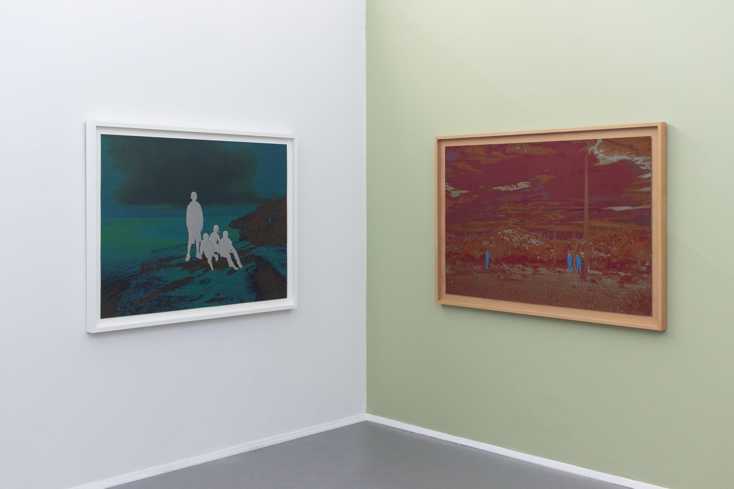 John Brinton Hogan, Gallery Director Making Snapshot of Artists ...