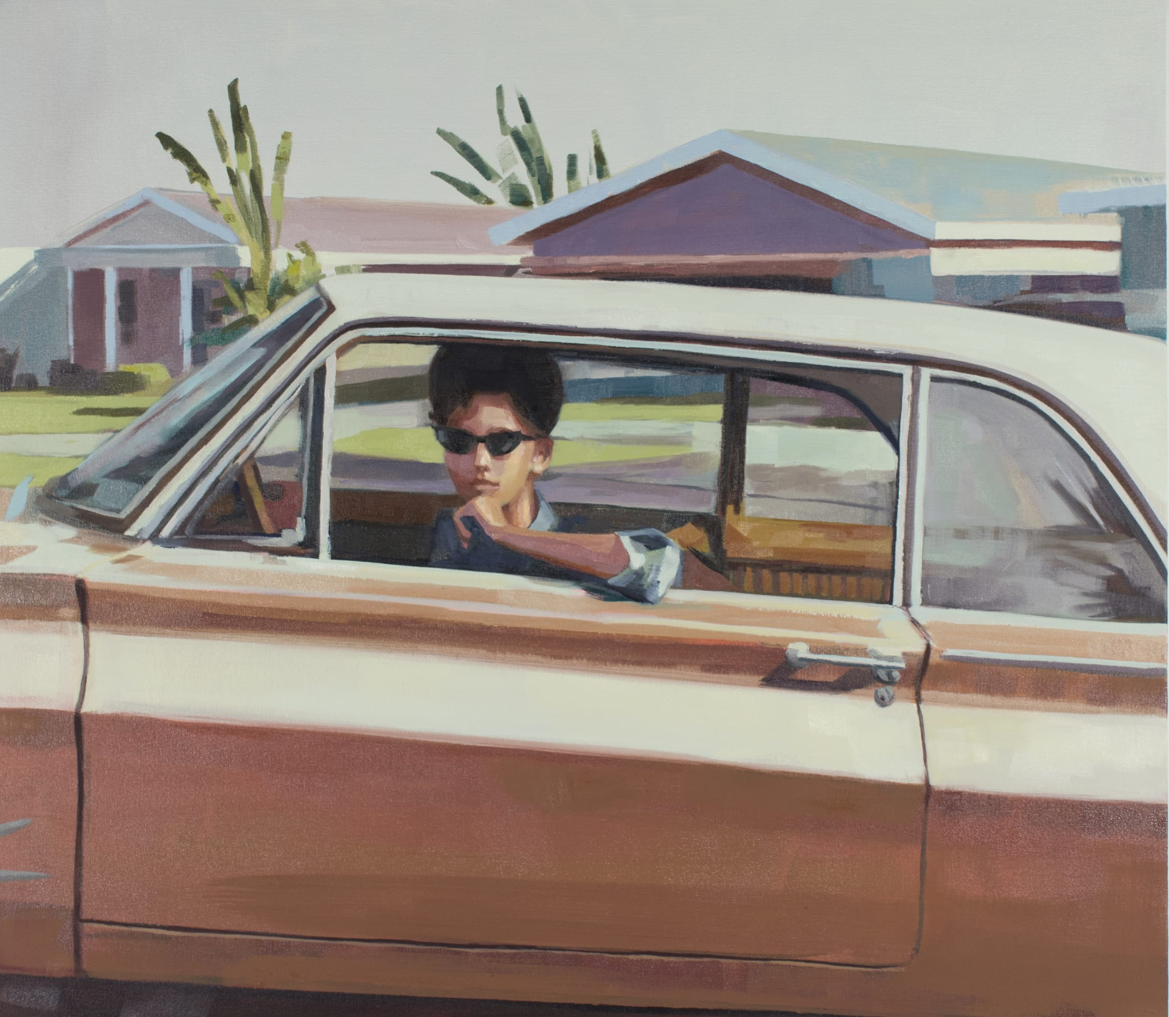 "<span class=""link fancybox-details-link""><a href=""/artists/89-kirsten-tradowsky/works/1235-kirsten-tradowsky-woman-in-gold-car/"">View Detail Page</a></span><div class=""artist""><strong>Kirsten Tradowsky</strong></div> <div class=""title""><em>Woman in Gold Car</em></div> <div class=""medium"">Oil on canvas</div> <div class=""dimensions"">28 x 32 inches</div>"