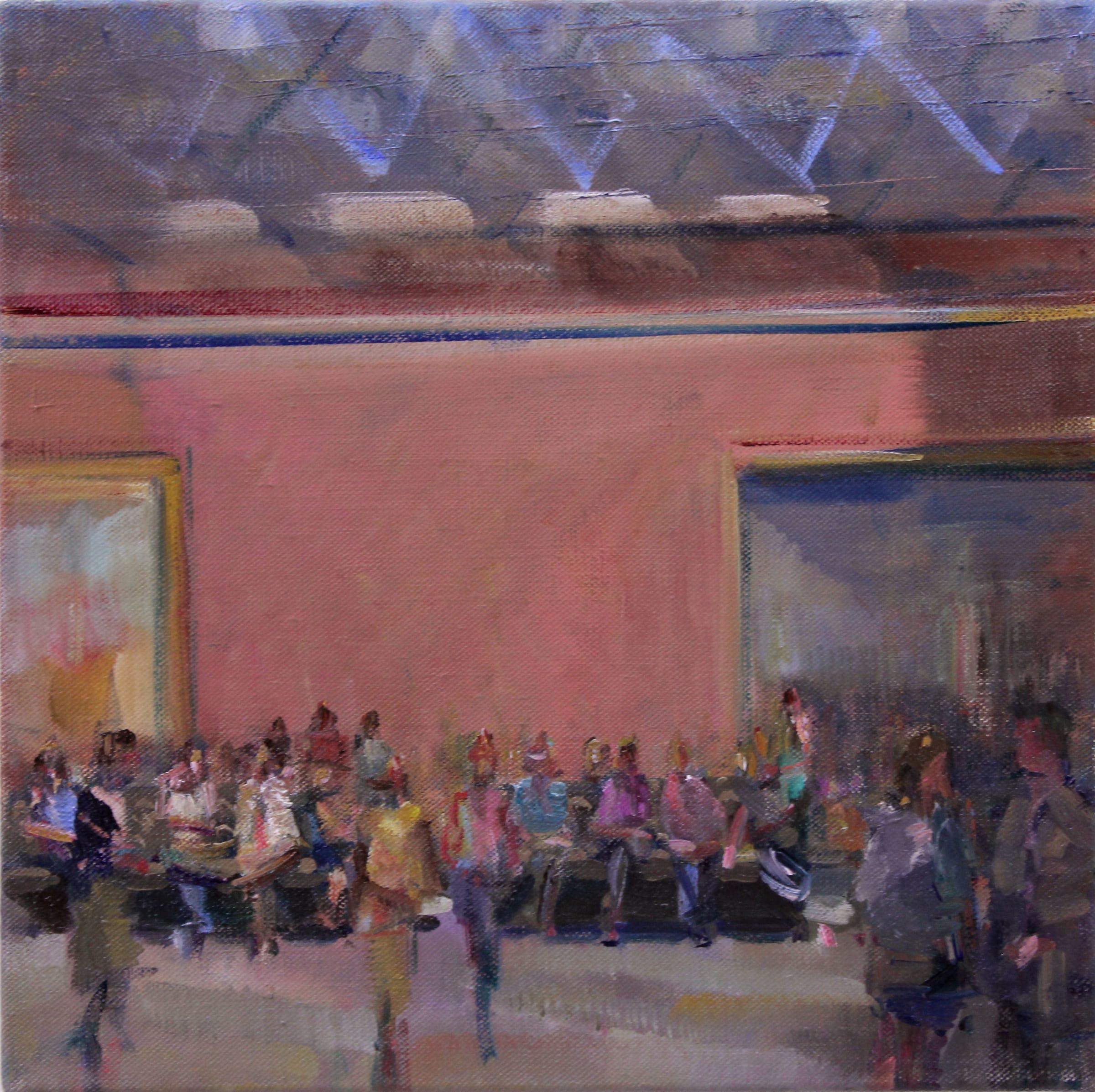 """<span class=""""link fancybox-details-link""""><a href=""""/artists/59-simon-nicholas/works/603-simon-nicholas-study-for-museum-atrium/"""">View Detail Page</a></span><div class=""""artist""""><strong>Simon Nicholas</strong></div> <div class=""""title""""><em>Study for Museum Atrium</em></div> <div class=""""medium"""">Oil on Linen</div> <div class=""""dimensions"""">13.8 x 13.8</div>"""