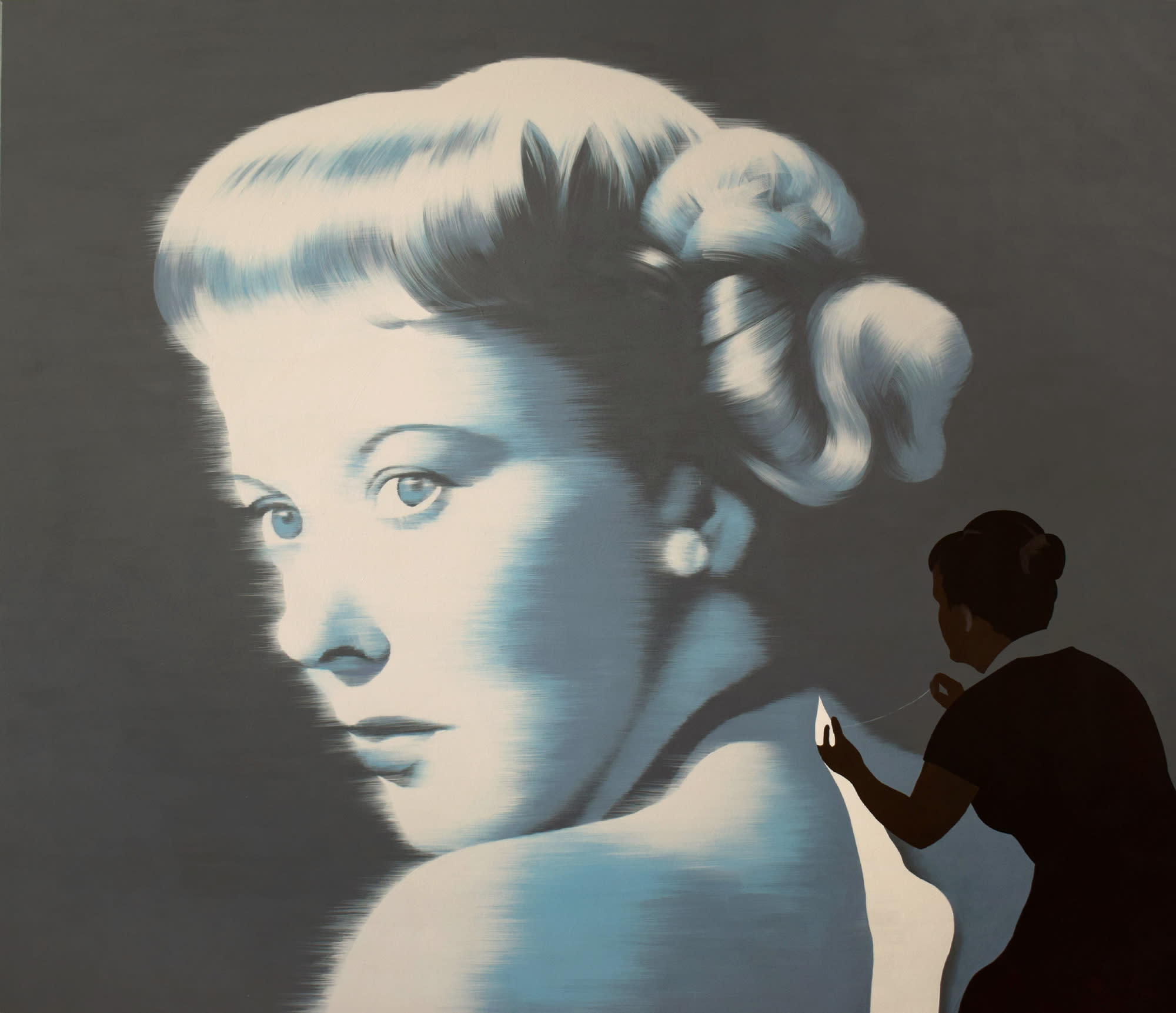 "<span class=""link fancybox-details-link""><a href=""/artists/54-jarek-puczel/works/582-jarek-puczel-the-idol/"">View Detail Page</a></span><div class=""artist""><strong>Jarek Puczel</strong></div> <div class=""title""><em>The Idol</em></div> <div class=""medium"">Acrylic on Canvas</div> <div class=""dimensions"">47 x 55 inches</div>"