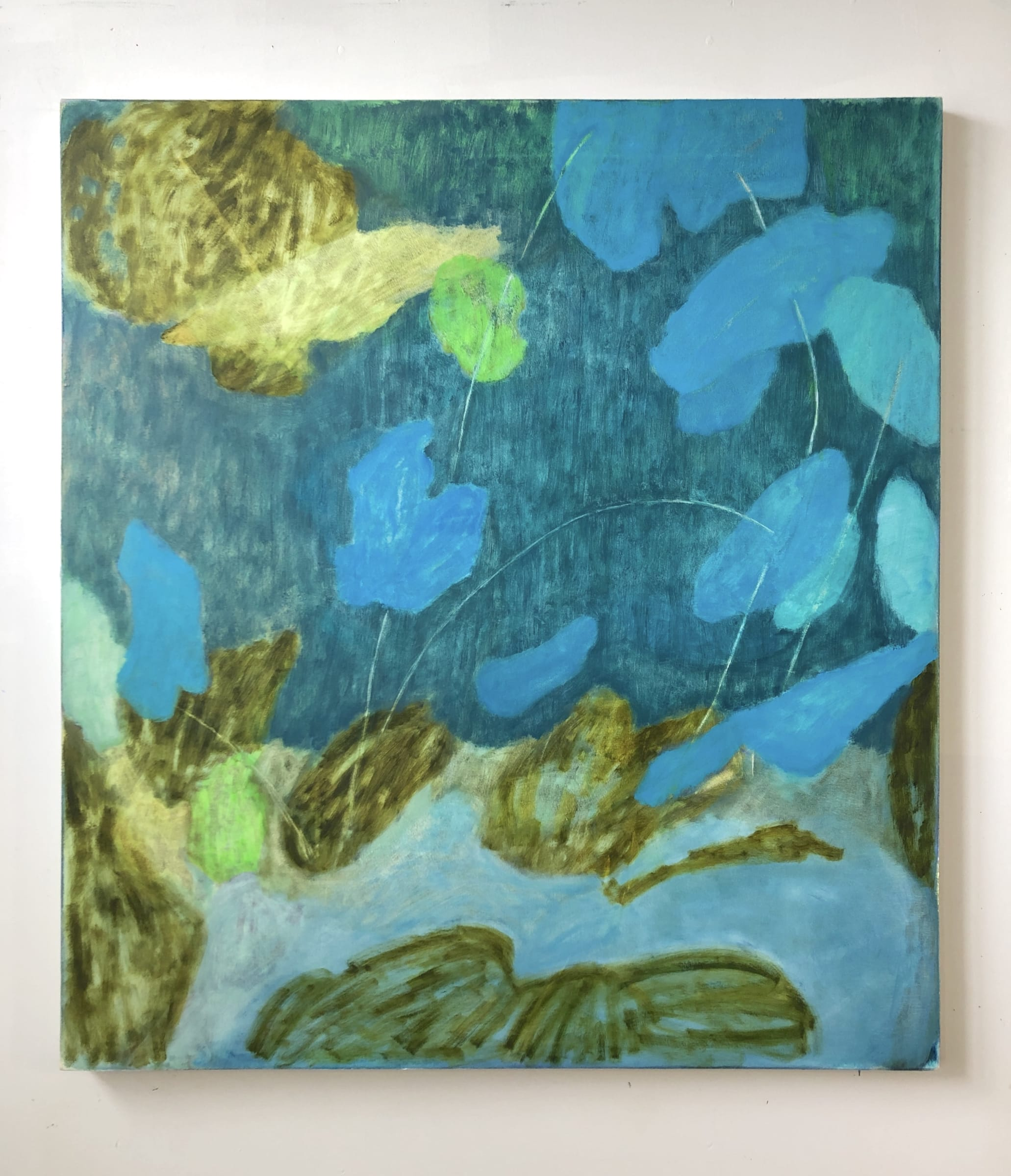 "<span class=""link fancybox-details-link""><a href=""/artists/28-rebekah-callaghan/works/957-rebekah-callaghan-soft-tide/"">View Detail Page</a></span><div class=""artist""><strong>Rebekah Callaghan</strong></div> <div class=""title""><em>Soft Tide</em></div> <div class=""medium"">Oil on canvas</div> <div class=""dimensions"">42 x 38 inches</div>"