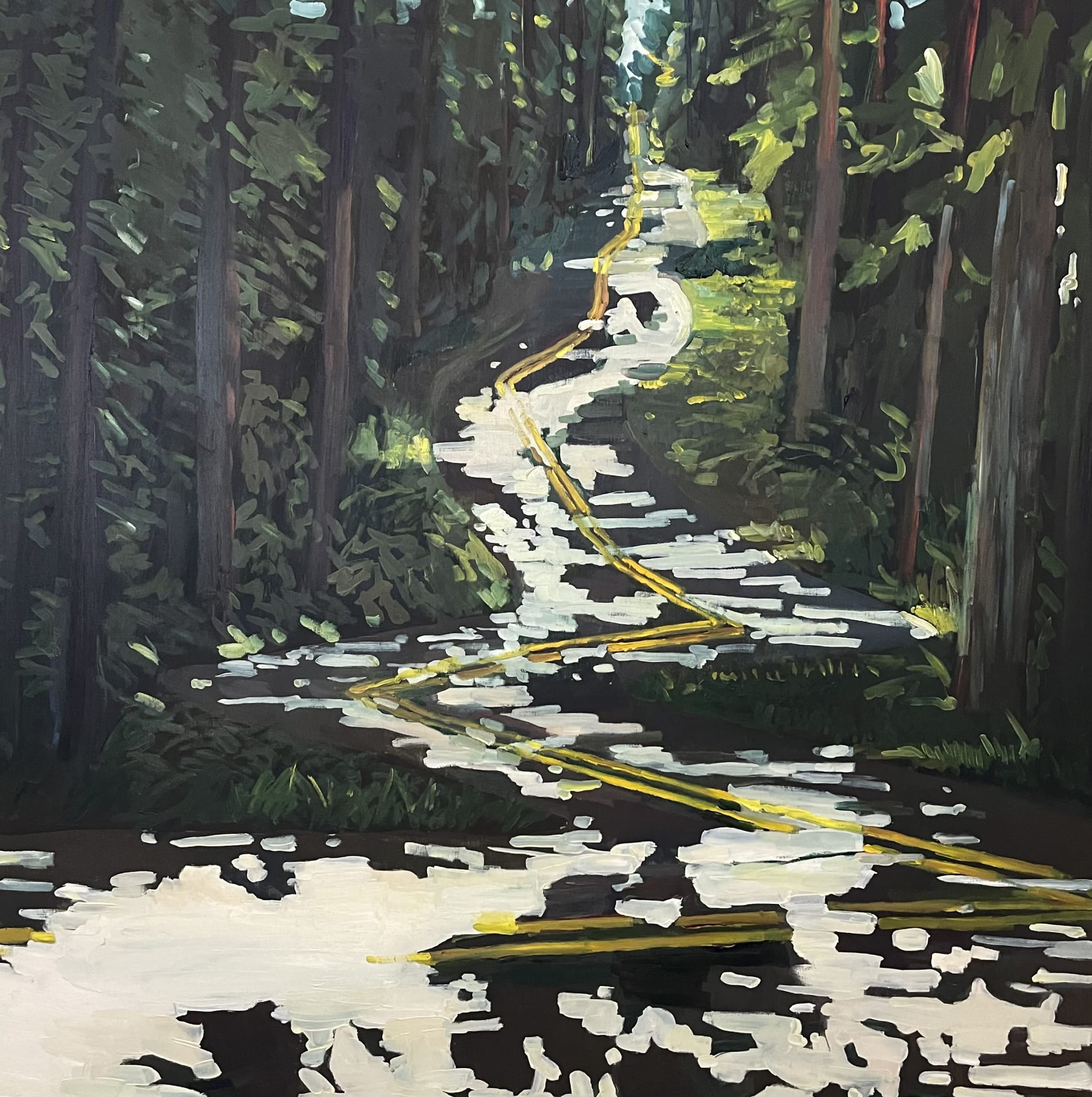 """<span class=""""link fancybox-details-link""""><a href=""""/artists/97-erika-lee-sears/works/1438-erika-lee-sears-winding-road/"""">View Detail Page</a></span><div class=""""artist""""><strong>Erika Lee Sears</strong></div> <div class=""""title""""><em>Winding Road</em></div> <div class=""""medium"""">Oil on panel</div> <div class=""""dimensions"""">24 x 24 inches</div>"""