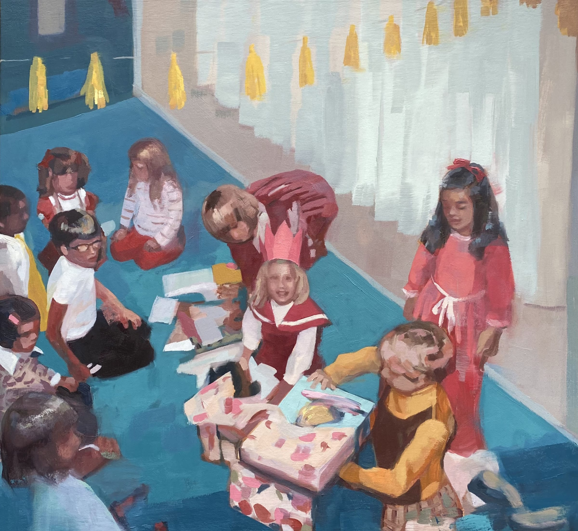"<span class=""link fancybox-details-link""><a href=""/artists/89-kirsten-tradowsky/works/1418-kirsten-tradowsky-presents/"">View Detail Page</a></span><div class=""artist""><strong>Kirsten Tradowsky</strong></div> <div class=""title""><em>Presents</em></div> <div class=""medium"">Oil on canvas</div> <div class=""dimensions"">22 x 24 inches</div>"