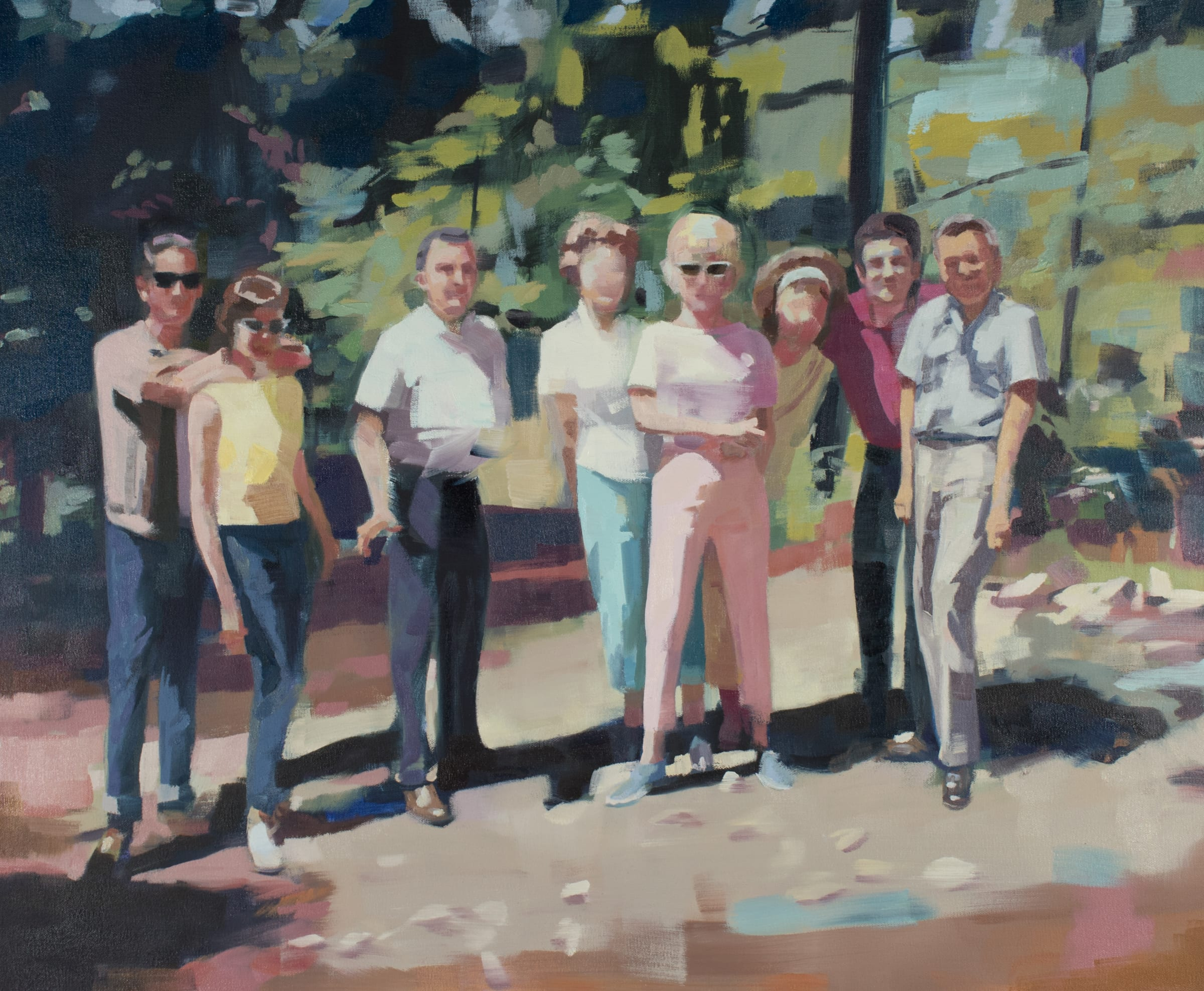 "<span class=""link fancybox-details-link""><a href=""/artists/89-kirsten-tradowsky/works/1234-kirsten-tradowsky-reunion/"">View Detail Page</a></span><div class=""artist""><strong>Kirsten Tradowsky</strong></div> <div class=""title""><em>Reunion</em></div> <div class=""medium"">Oil on canvas</div> <div class=""dimensions"">28 x 34 inches</div>"