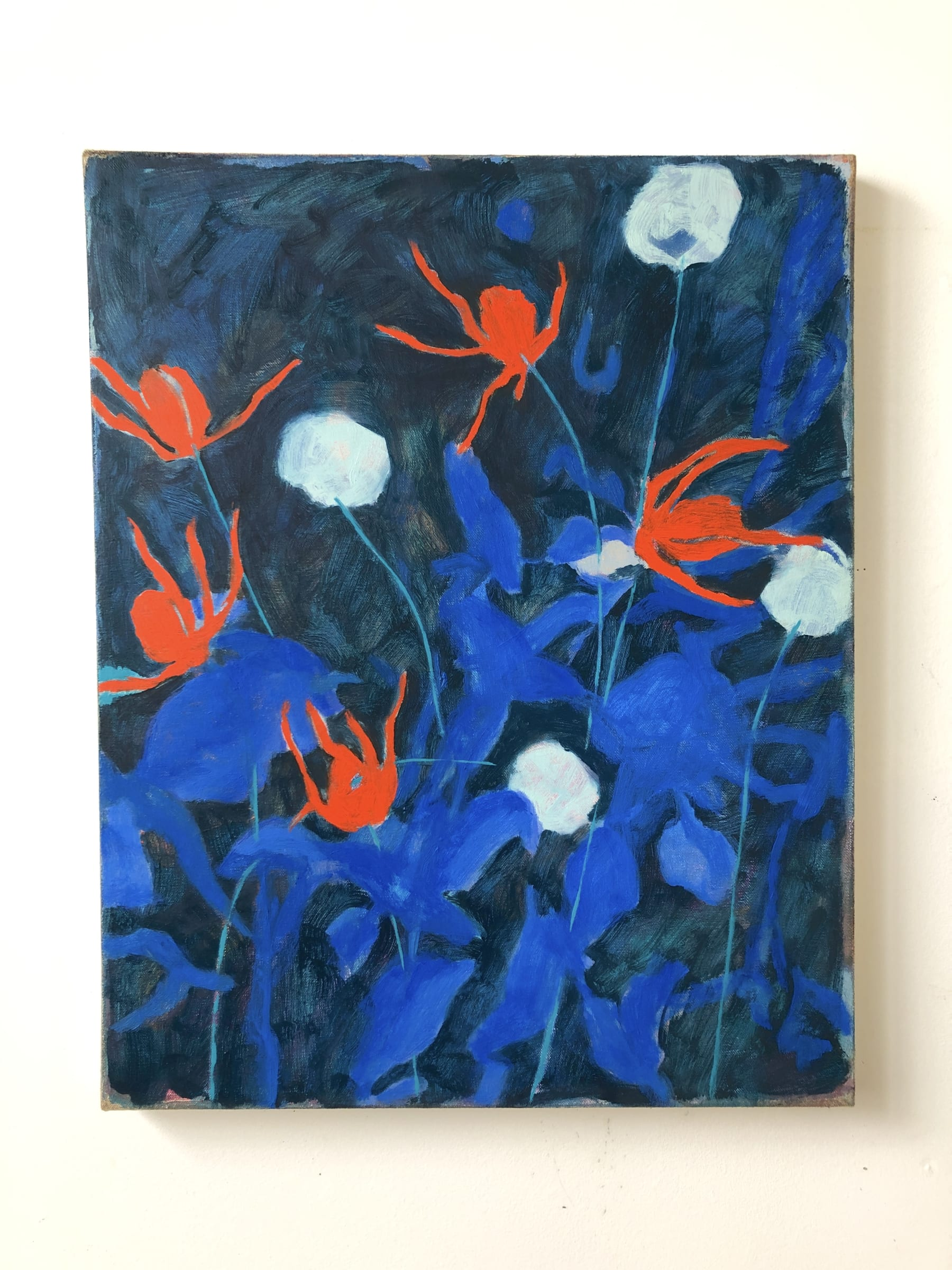 "<span class=""link fancybox-details-link""><a href=""/artists/28-rebekah-callaghan/works/953-rebekah-callaghan-globe-thistle/"">View Detail Page</a></span><div class=""artist""><strong>Rebekah Callaghan</strong></div> <div class=""title""><em>Globe Thistle</em></div> <div class=""medium"">Oil on canvas</div> <div class=""dimensions"">20 x 16 inches</div>"