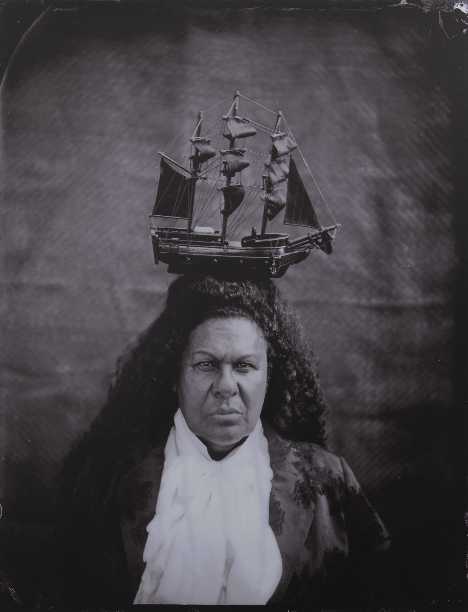 "<span class=""link fancybox-details-link""><a href=""/artists/63-jasmine-togo-brisby/works/8004-jasmine-togo-brisby-post-plantation-heir-i-2019/"">View Detail Page</a></span><div class=""artist""><strong>Jasmine Togo-Brisby</strong></div> <div class=""title""><em>Post Plantation Heir I</em>, 2019</div> <div class=""medium"">Unique photographic print on dibond</div> <div class=""dimensions"">1285mm x 985mm</div>"