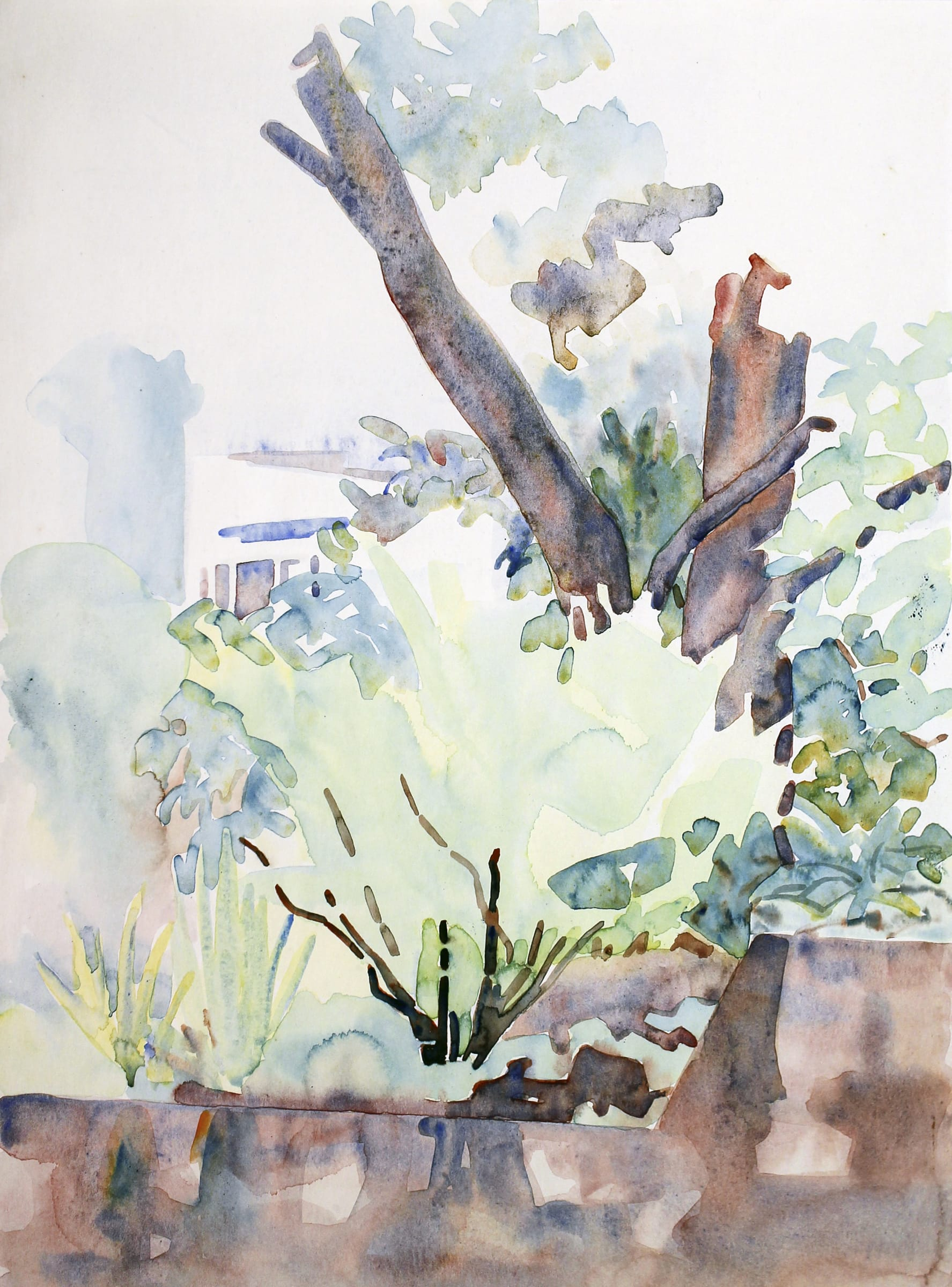 """<span class=""""link fancybox-details-link""""><a href=""""/artists/70-rita-angus/works/6393-rita-angus-tree-study-thorndon-n.d./"""">View Detail Page</a></span><div class=""""artist""""><strong>Rita Angus</strong></div> <div class=""""title""""><em>Tree Study, Thorndon</em>, n.d.</div> <div class=""""medium"""">Watercolour on paper</div> <div class=""""dimensions"""">14.9 x 11 in<br />37.9 x 27.9 cm</div>"""