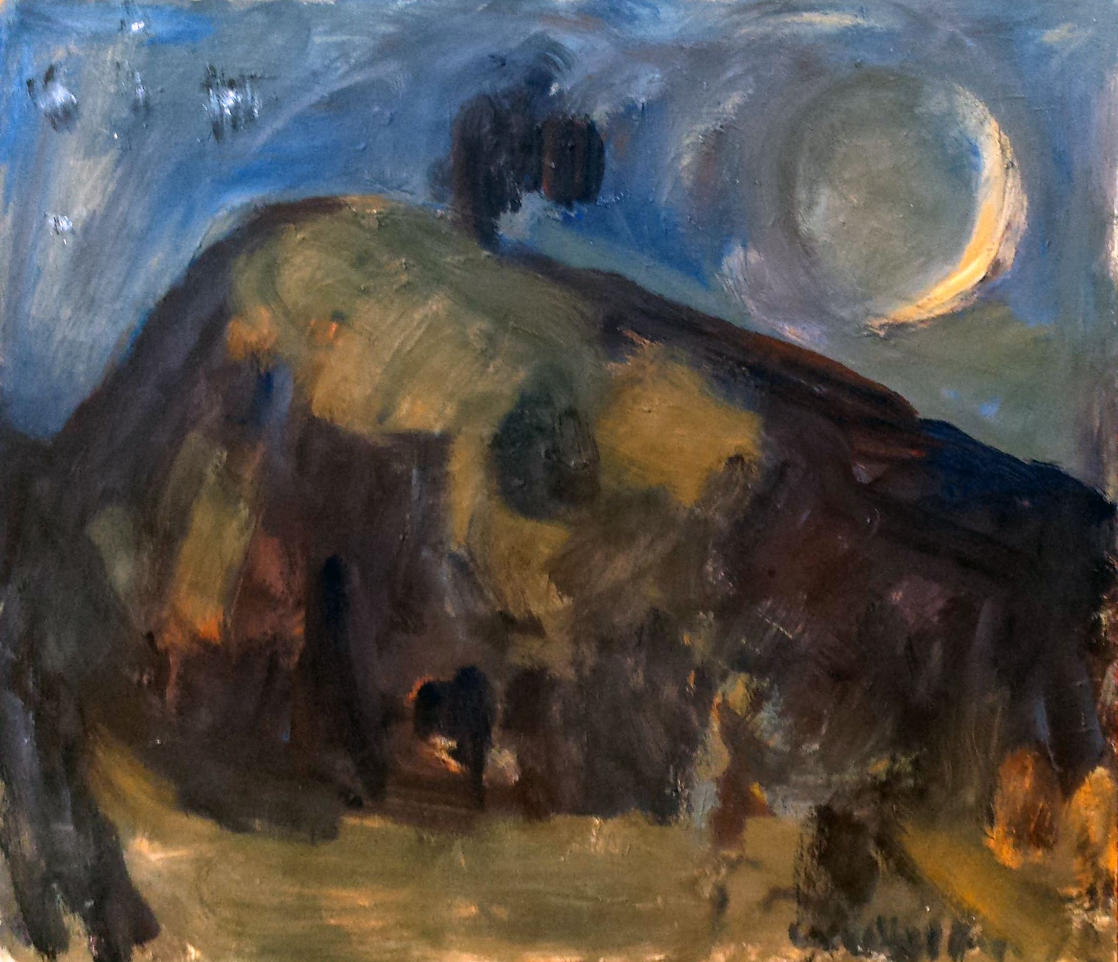 <span class=&#34;link fancybox-details-link&#34;><a href=&#34;/exhibitions/17/works/artworks5036/&#34;>View Detail Page</a></span><div class=&#34;signed_and_dated&#34;>Signed</div> <div class=&#34;medium&#34;>Oil on board</div> <div class=&#34;dimensions&#34;>28.3 x 31.9 x 30.7 in<br />72 x 81 x 78 cm</div>