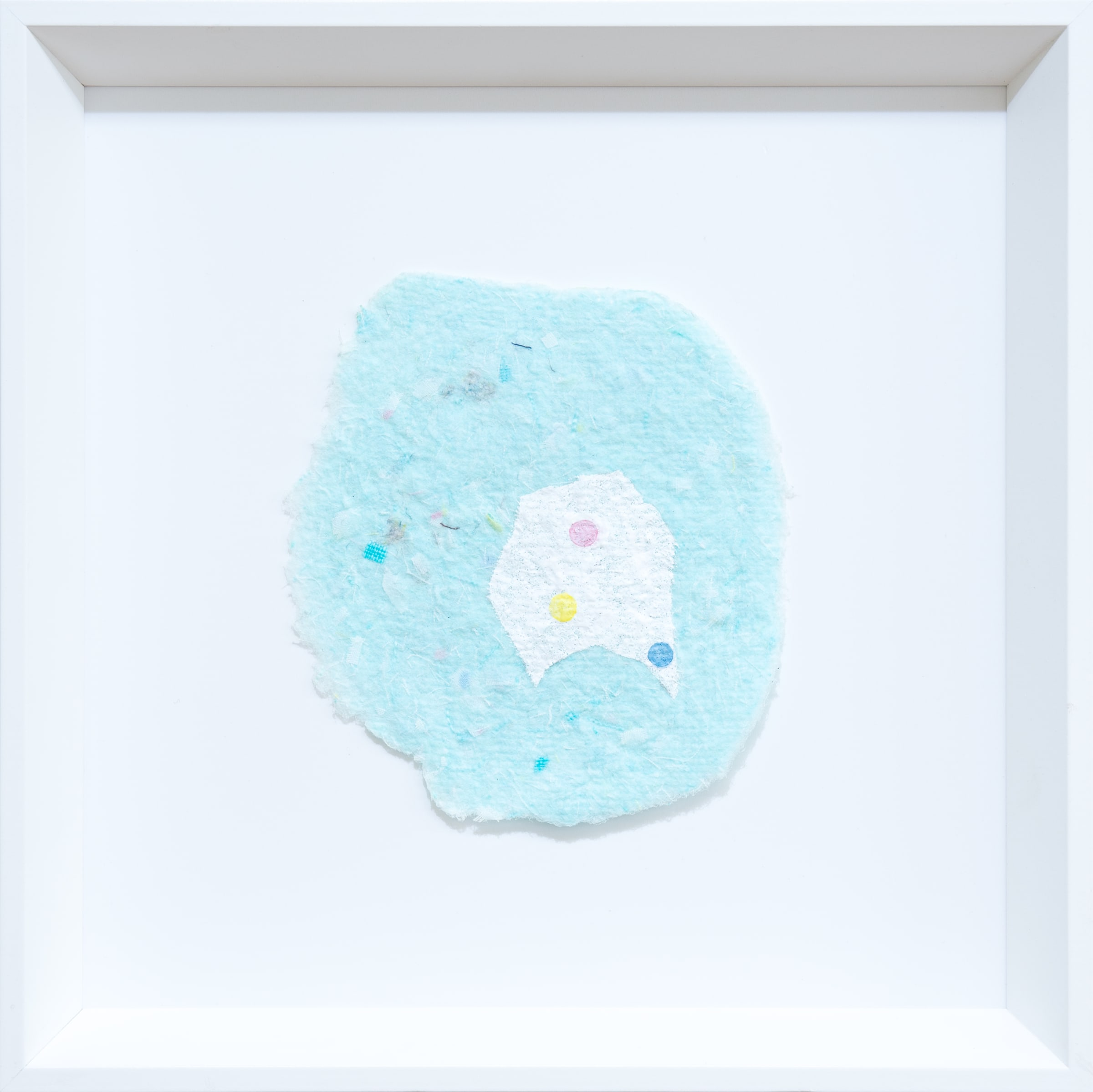 """<span class=""""link fancybox-details-link""""><a href=""""/exhibitions/113/works/artworks8641/"""">View Detail Page</a></span><div class=""""medium"""">Watercolour and gouache on handmade cotton, linen rag paper</div> <div class=""""dimensions"""">225mm x 225mm x 35mm<br /> </div>"""