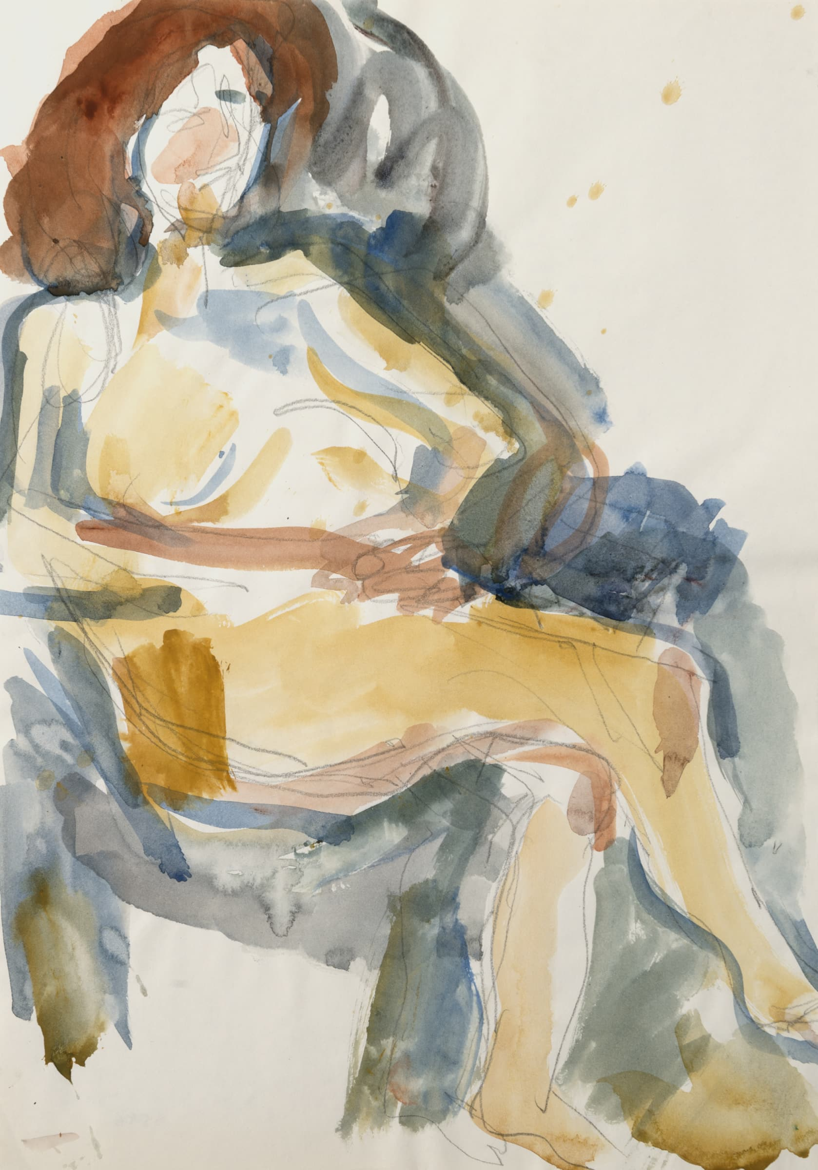 "<span class=""link fancybox-details-link""><a href=""/artists/62-mountford-tosswill-woollaston/works/6920-mountford-tosswill-woollaston-untitled-nude-in-chair-2-n.d./"">View Detail Page</a></span><div class=""artist""><strong>Mountford Tosswill Woollaston</strong></div> <div class=""title""><em>Untitled [Nude in Chair] (2)</em>, n.d.</div> <div class=""medium"">Watercolour and pencil on paper</div> <div class=""dimensions"">16.7 x 11.8 in<br />42.5 x 30 cm</div>"