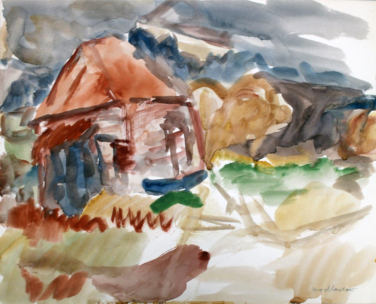 <span class=&#34;link fancybox-details-link&#34;><a href=&#34;/exhibitions/57/works/artworks5032/&#34;>View Detail Page</a></span><div class=&#34;signed_and_dated&#34;>Signed bottom right corner</div> <div class=&#34;medium&#34;>Watercolour on paper</div> <div class=&#34;dimensions&#34;>12.6 x 15.6 in<br />32 x 39.5 cm</div>