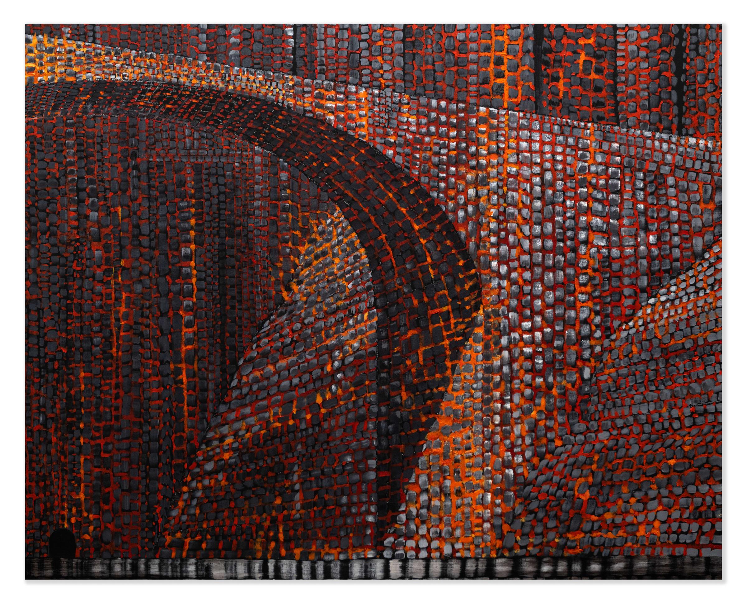 "<span class=""link fancybox-details-link""><a href=""/artists/51-derek-cowie/works/8723-derek-cowie-bridge-1-2020-21/"">View Detail Page</a></span><div class=""artist""><strong>Derek Cowie</strong></div> <div class=""title""><em>Bridge #1</em>, 2020-21</div> <div class=""signed_and_dated"">Signed, titled and dated on verso</div> <div class=""medium"">Oil on canvas</div> <div class=""dimensions"">1220mm x 1520mm</div>"