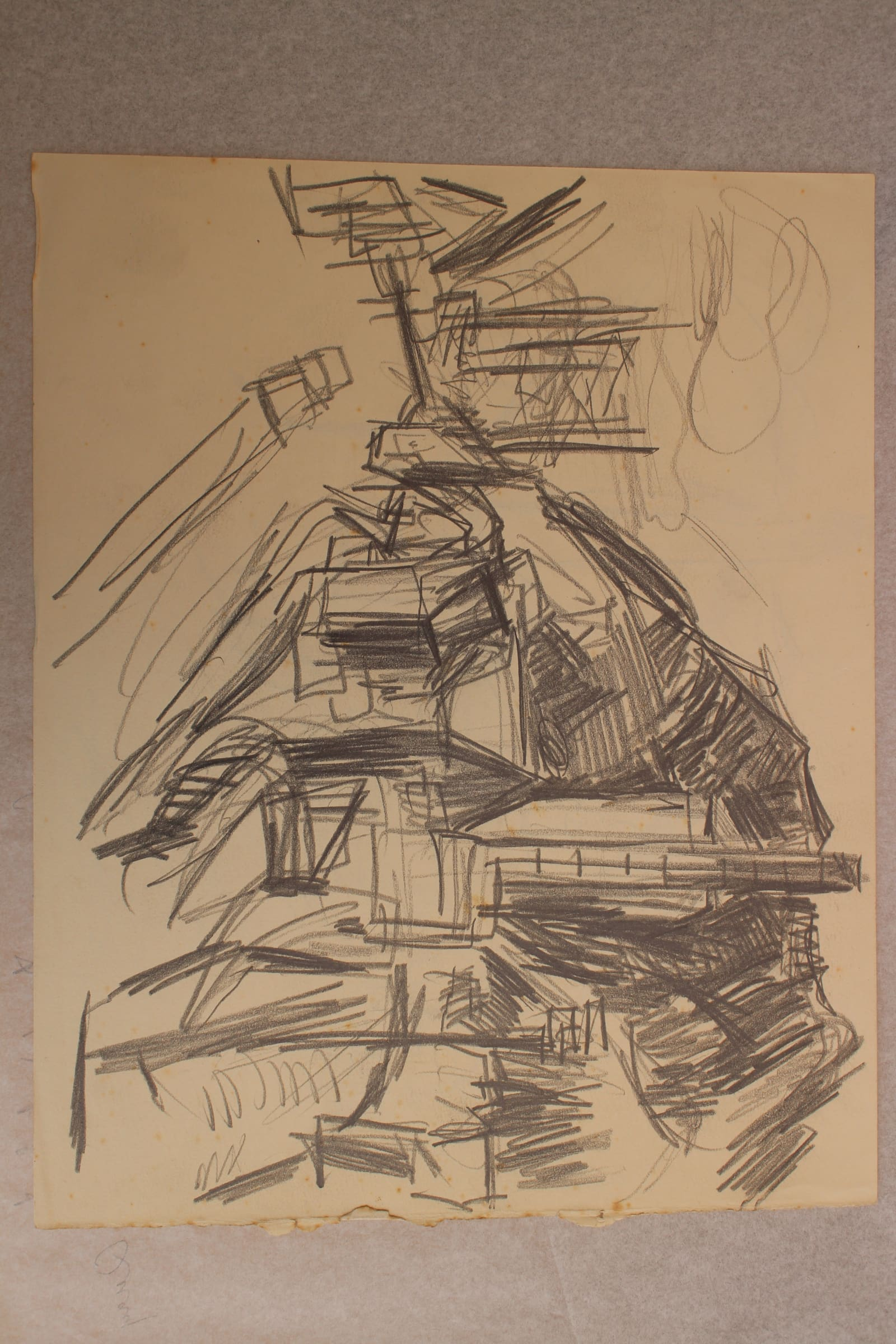 <span class=&#34;link fancybox-details-link&#34;><a href=&#34;/exhibitions/57/works/artworks5031/&#34;>View Detail Page</a></span><div class=&#34;medium&#34;>Pencil on paper</div> <div class=&#34;dimensions&#34;>9.8 x 12.2 in<br />25 x 31 cm</div>