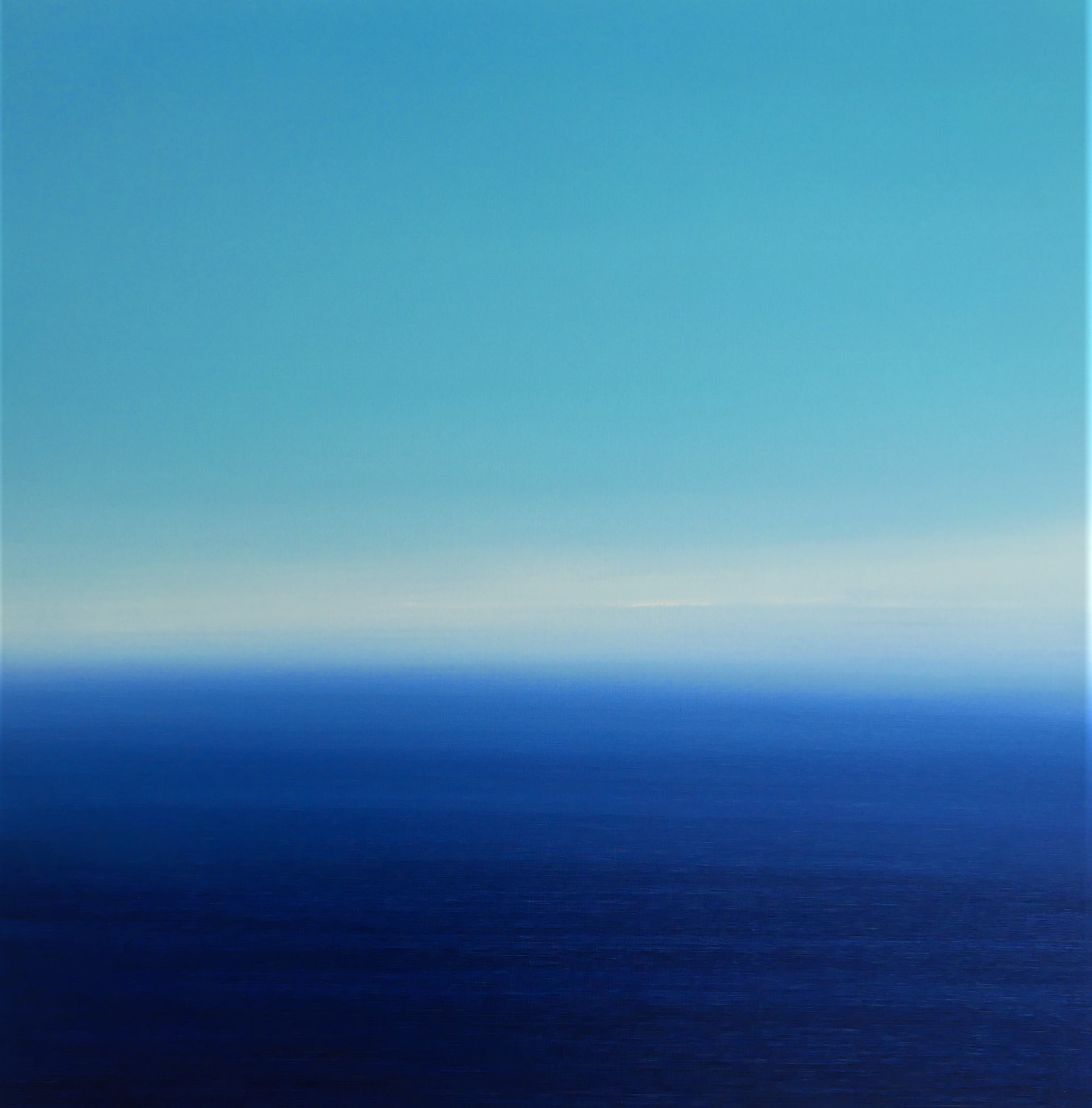 """<span class=""""link fancybox-details-link""""><a href=""""/artists/78-martyn-perryman/works/7913-martyn-perryman-endless-horizons-st-ives-bay-2021/"""">View Detail Page</a></span><div class=""""artist""""><strong>Martyn Perryman</strong></div> b. 1963 <div class=""""title""""><em>Endless Horizons St Ives Bay </em>, 2021</div> <div class=""""medium"""">oil on canvas<br /> framed</div> <div class=""""dimensions"""">canvas size: h. 80 x w. 80 cm <br /> <br /> </div><div class=""""copyright_line"""">Ownart: £120 x 10 Months, 0% APR</div>"""