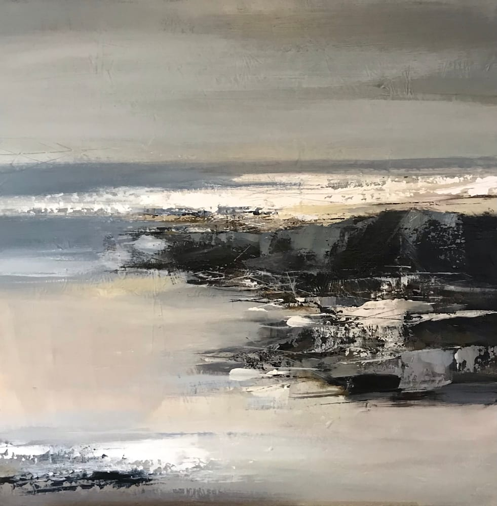 """<span class=""""link fancybox-details-link""""><a href=""""/artists/92-jenny-hirst/works/7503-jenny-hirst-washed-sand-2021/"""">View Detail Page</a></span><div class=""""artist""""><strong>Jenny Hirst</strong></div> b. 1954 <div class=""""title""""><em>Washed Sand</em>, 2021</div> <div class=""""signed_and_dated"""">signed on front</div> <div class=""""medium"""">acrylic on canvas (unframed)</div> <div class=""""dimensions"""">h. 60 cm x w. 60 cm<br /> framed: h. 62 cm x w. 62 cm</div><div class=""""copyright_line"""">Own Art: £95 x 10 months, 0% APR</div>"""
