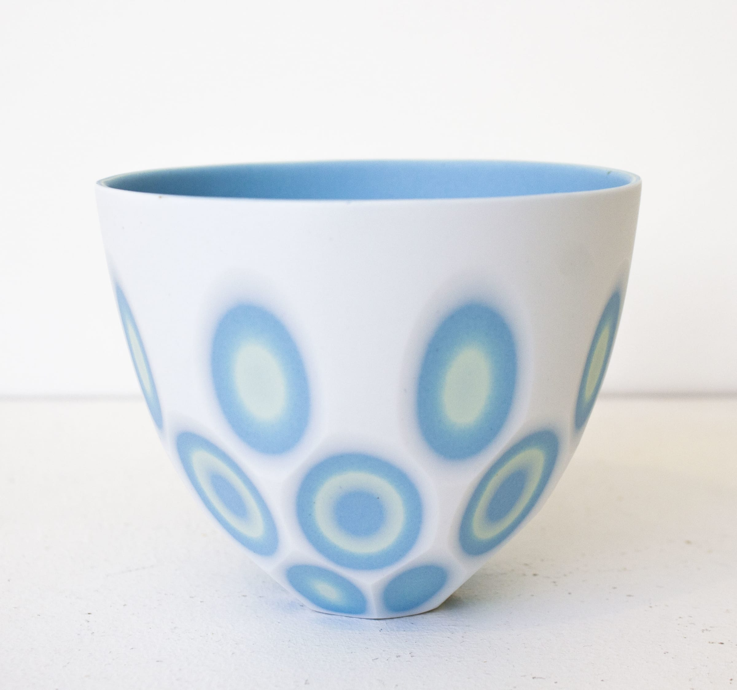 """<span class=""""link fancybox-details-link""""><a href=""""/artists/60-sasha-wardell/works/7787-sasha-wardell-white-space-round-bowl-2021/"""">View Detail Page</a></span><div class=""""artist""""><strong>Sasha Wardell</strong></div> <div class=""""title""""><em>White 'Space' Round Bowl</em>, 2021</div> <div class=""""medium"""">bone china</div> <div class=""""dimensions"""">h. 9 cm</div><div class=""""price"""">£190.00</div><div class=""""copyright_line"""">Own Art: £19 x 10 Months, 0% APR</div>"""