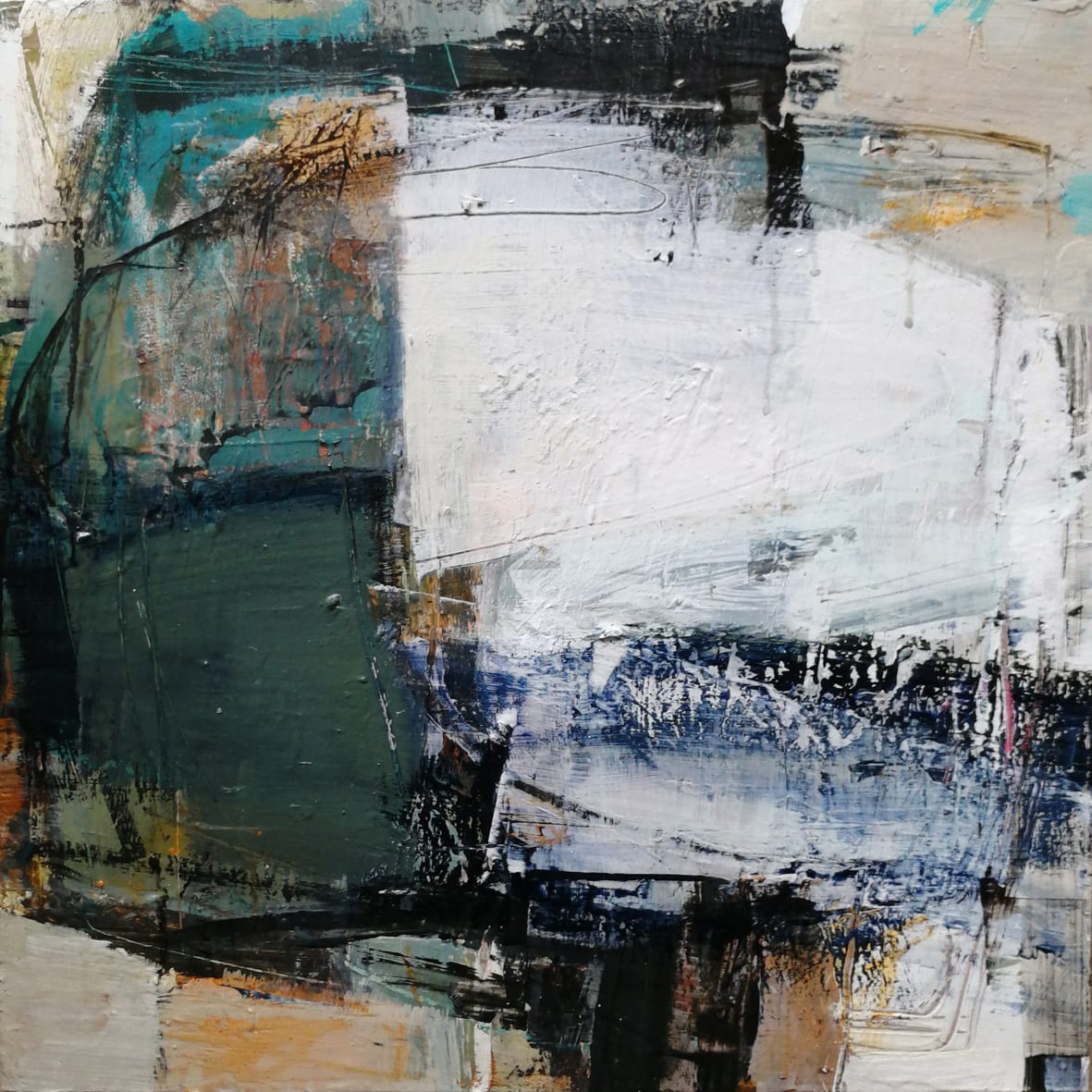 """<span class=""""link fancybox-details-link""""><a href=""""/store/artworks/7759-joanne-last-space-to-breathe-2021/"""">View Detail Page</a></span><div class=""""artist""""><strong>Joanne Last</strong></div> <div class=""""title""""><em>Space to Breathe</em>, 2021</div> <div class=""""signed_and_dated"""">signed and dated on verso</div> <div class=""""medium"""">acrylic on board</div> <div class=""""dimensions"""">board: 40 x 40 cm<br /> framed: 55 x 55 cm</div><div class=""""price"""">£950.00</div><div class=""""copyright_line"""">Own Art: £95 x 10 Months, 0% APR + £10 deposit</div>"""