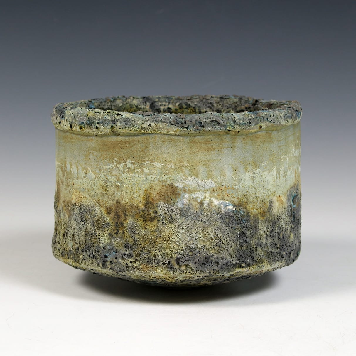 """<span class=""""link fancybox-details-link""""><a href=""""/content/feature/40/artworks7990/"""">View Detail Page</a></span><div class=""""signed_and_dated"""">impressed seal mark 'PW'</div> <div class=""""medium"""">stoneware, multiple slips and glazes</div> <div class=""""dimensions"""">10 x 15 cm</div>"""