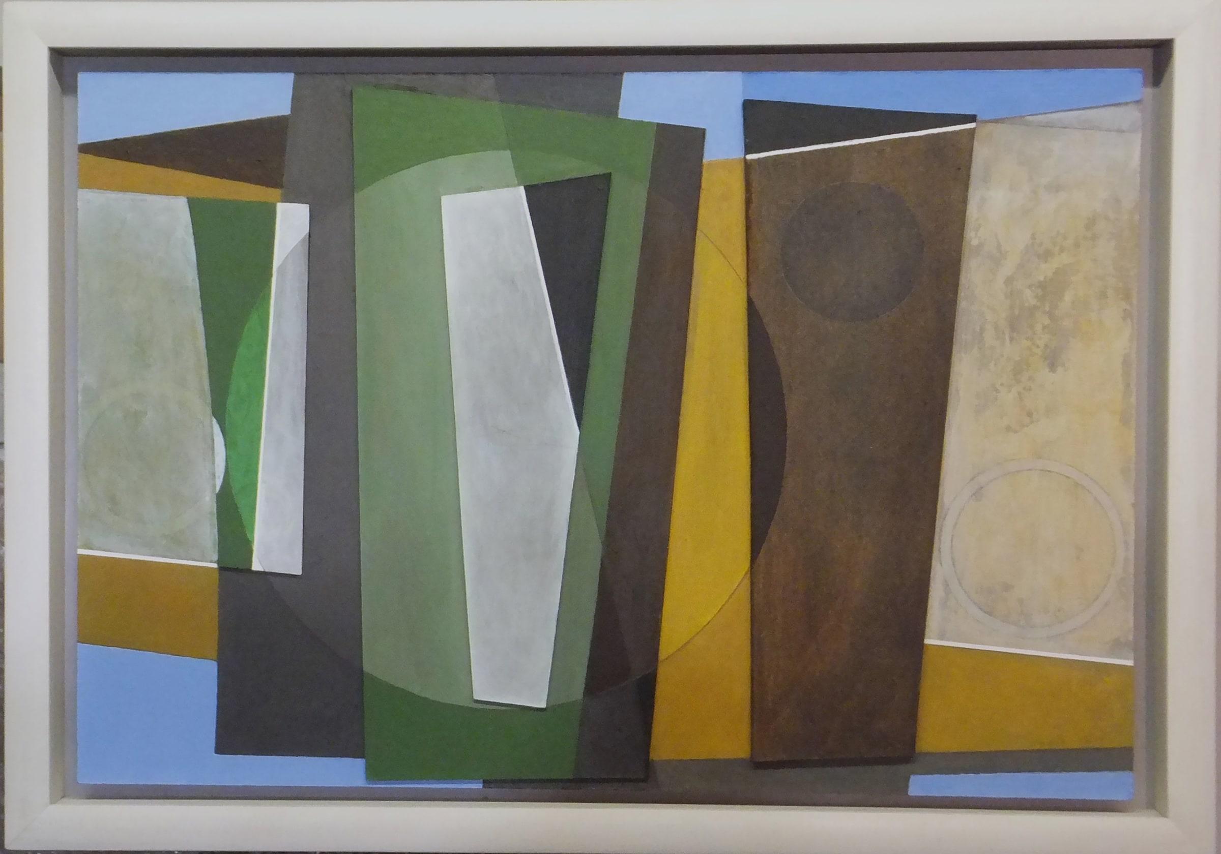 "<span class=""link fancybox-details-link""><a href=""/artists/172-patrick-haughton/works/6995-patrick-haughton-circles-and-stones-2020/"">View Detail Page</a></span><div class=""artist""><strong>Patrick Haughton</strong></div> b. 1942 <div class=""title""><em>Circles and Stones</em>, 2020</div> <div class=""medium"">Relief construction/acrylic painting</div> <div class=""dimensions"">h. 40 cm x w. 59 cm</div><div class=""price"">£1,500.00</div><div class=""copyright_line"">Copyright The Artist</div>"