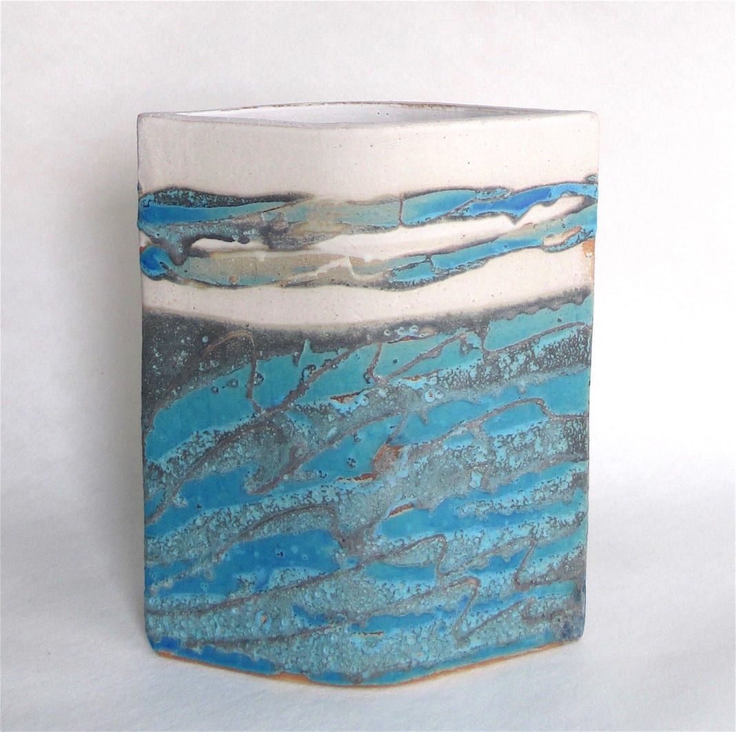 """<span class=""""link fancybox-details-link""""><a href=""""/artists/44-sarah-perry/works/6000-sarah-perry-seascape-ellipse-2018/"""">View Detail Page</a></span><div class=""""artist""""><strong>Sarah Perry</strong></div> b. 1945 <div class=""""title""""><em>Seascape Ellipse</em>, 2018</div> <div class=""""medium"""">stamped by the artist's studio mark</div> <div class=""""dimensions"""">24.5 x 20 cm</div><div class=""""price"""">£245.00</div><div class=""""copyright_line"""">Copyright The Artist</div>"""