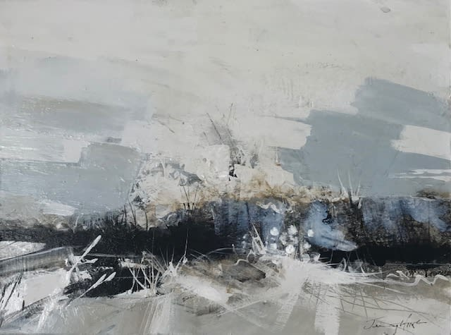 """<span class=""""link fancybox-details-link""""><a href=""""/artists/92-jenny-hirst/works/7582-jenny-hirst-dunes-2021/"""">View Detail Page</a></span><div class=""""artist""""><strong>Jenny Hirst</strong></div> <div class=""""title""""><em>Dunes</em>, 2021</div> <div class=""""medium"""">Mixed media on board</div> <div class=""""dimensions"""">h. 30 cm x w. 40 cm <br /> Framed size: h. 50 cm x w. 60 cm </div><div class=""""price"""">£700.00</div><div class=""""copyright_line"""">Own Art: £70 x 10 months, 0% APR</div>"""