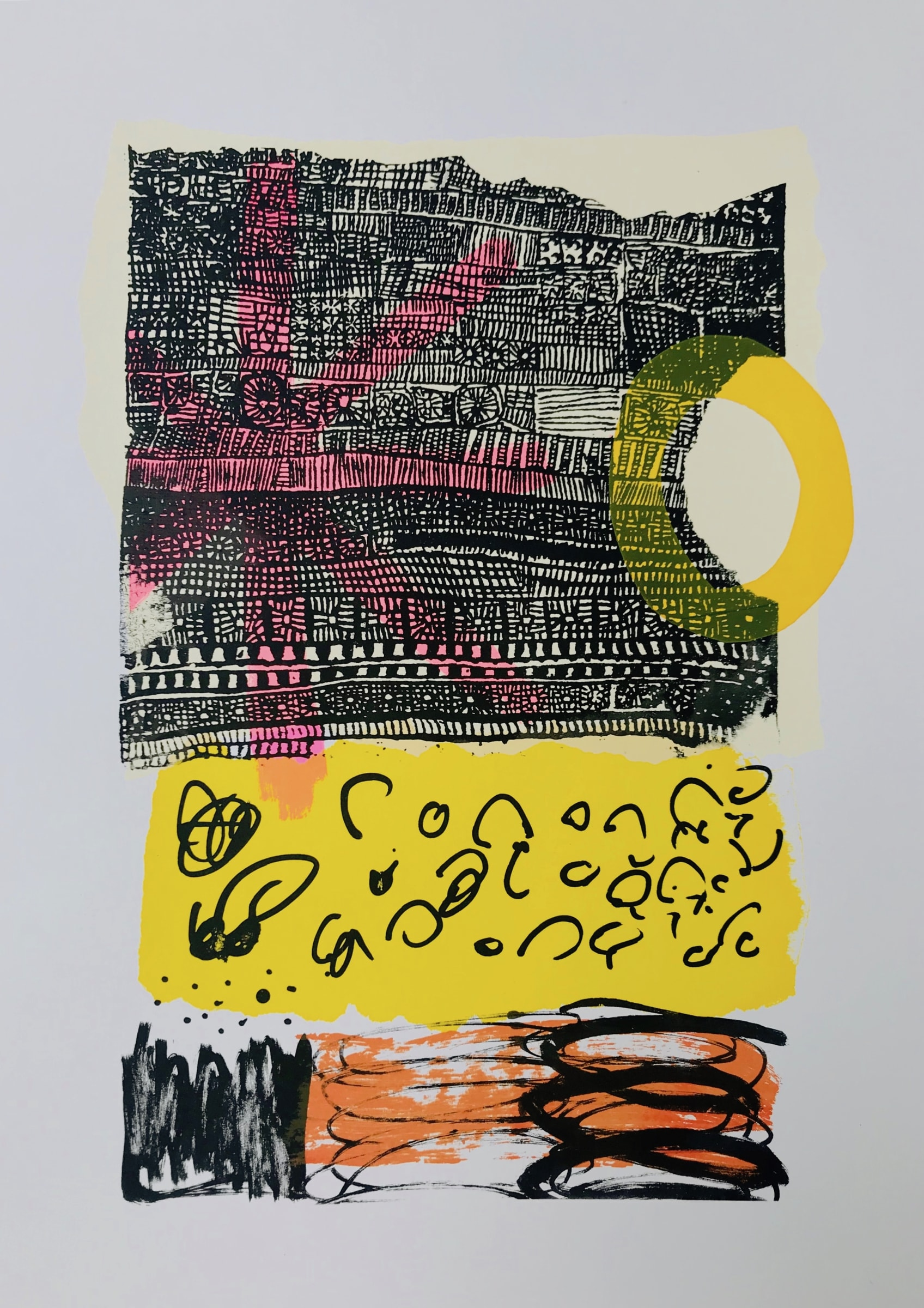 "<span class=""link fancybox-details-link""><a href=""/artists/235-suzanne-bethell/works/6670-suzanne-bethell-jazz/"">View Detail Page</a></span><div class=""artist""><strong>Suzanne Bethell</strong></div> <div class=""title""><em>Jazz</em></div> <div class=""medium"">Mono colour screen print</div> <div class=""dimensions"">30x43cm (unframed), 47x62cm (framed)</div><div class=""price"">£385.00</div><div class=""copyright_line"">Copyright The Artist</div>"