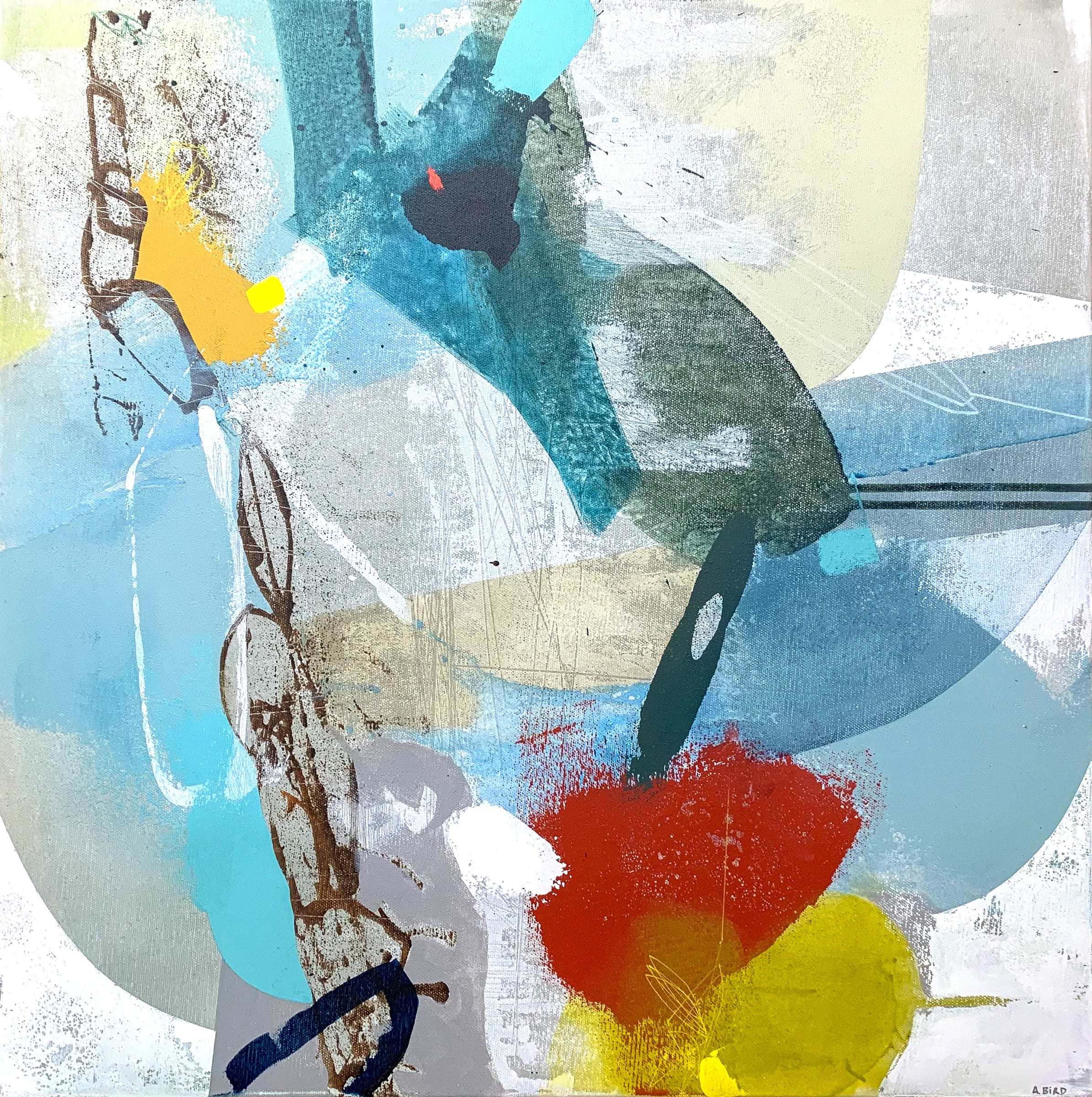 """<span class=""""link fancybox-details-link""""><a href=""""/store/artworks/7979-andrew-bird-the-past-in-the-present-2021/"""">View Detail Page</a></span><div class=""""artist""""><strong>Andrew Bird</strong></div> b. 1969 <div class=""""title""""><em>The Past in the Present</em>, 2021</div> <div class=""""medium"""">acrylic on canvas</div> <div class=""""dimensions"""">61 x 61 cm </div><div class=""""price"""">£1,850.00</div><div class=""""copyright_line"""">Own Art: £185 x 10 Months, 0% APR </div>"""
