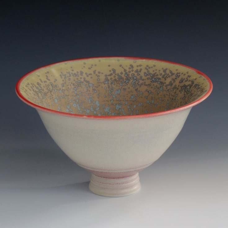 """<span class=""""link fancybox-details-link""""><a href=""""/artists/61-geoffrey-swindell/works/7122-geoffrey-swindell-bowl-2020/"""">View Detail Page</a></span><div class=""""artist""""><strong>Geoffrey Swindell</strong></div> b. 1945 <div class=""""title""""><em>Bowl</em>, 2020</div> <div class=""""signed_and_dated"""">impressed artist's seal to base</div> <div class=""""medium"""">porcelain</div><div class=""""price"""">£150.00</div><div class=""""copyright_line"""">Own Art: £ 14.50 x 10 Months, 0% APR</div>"""
