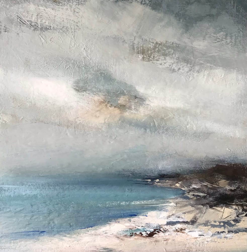 """<span class=""""link fancybox-details-link""""><a href=""""/artists/92-jenny-hirst/works/7500-jenny-hirst-fine-day-2021/"""">View Detail Page</a></span><div class=""""artist""""><strong>Jenny Hirst</strong></div> b. 1954 <div class=""""title""""><em>Fine Day</em>, 2021</div> <div class=""""signed_and_dated"""">signed to front</div> <div class=""""medium"""">acrylic on board </div> <div class=""""dimensions"""">h. 40 cm x w. 40 cm<br /> framed: 60 cm x 60 cm</div><div class=""""price"""">£750.00</div><div class=""""copyright_line"""">Own Art: £75 x 10 months, 0% APR</div>"""