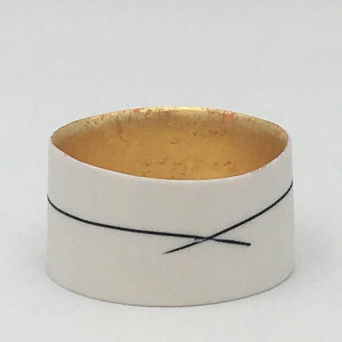 "<span class=""link fancybox-details-link""><a href=""/artists/195-lara-scobie/works/6519-lara-scobie-small-23ct-gold-bowl-2019/"">View Detail Page</a></span><div class=""artist""><strong>Lara Scobie</strong></div> b. 1967 <div class=""title""><em>Small 23ct Gold Bowl</em>, 2019</div> <div class=""medium"">Porcelain</div>"