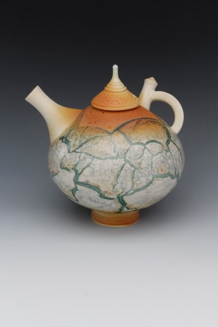 """<span class=""""link fancybox-details-link""""><a href=""""/artists/61-geoffrey-swindell/works/805-geoffrey-swindell-miniature-teapot-2014/"""">View Detail Page</a></span><div class=""""artist""""><strong>Geoffrey Swindell</strong></div> b. 1945 <div class=""""title""""><em>Miniature Teapot</em>, 2014</div> <div class=""""signed_and_dated"""">Studio stamp on base</div> <div class=""""medium"""">Porcelain</div> <div class=""""dimensions"""">h. 12 cm</div><div class=""""price"""">£330.00</div><div class=""""copyright_line"""">Copyright The Artist</div>"""