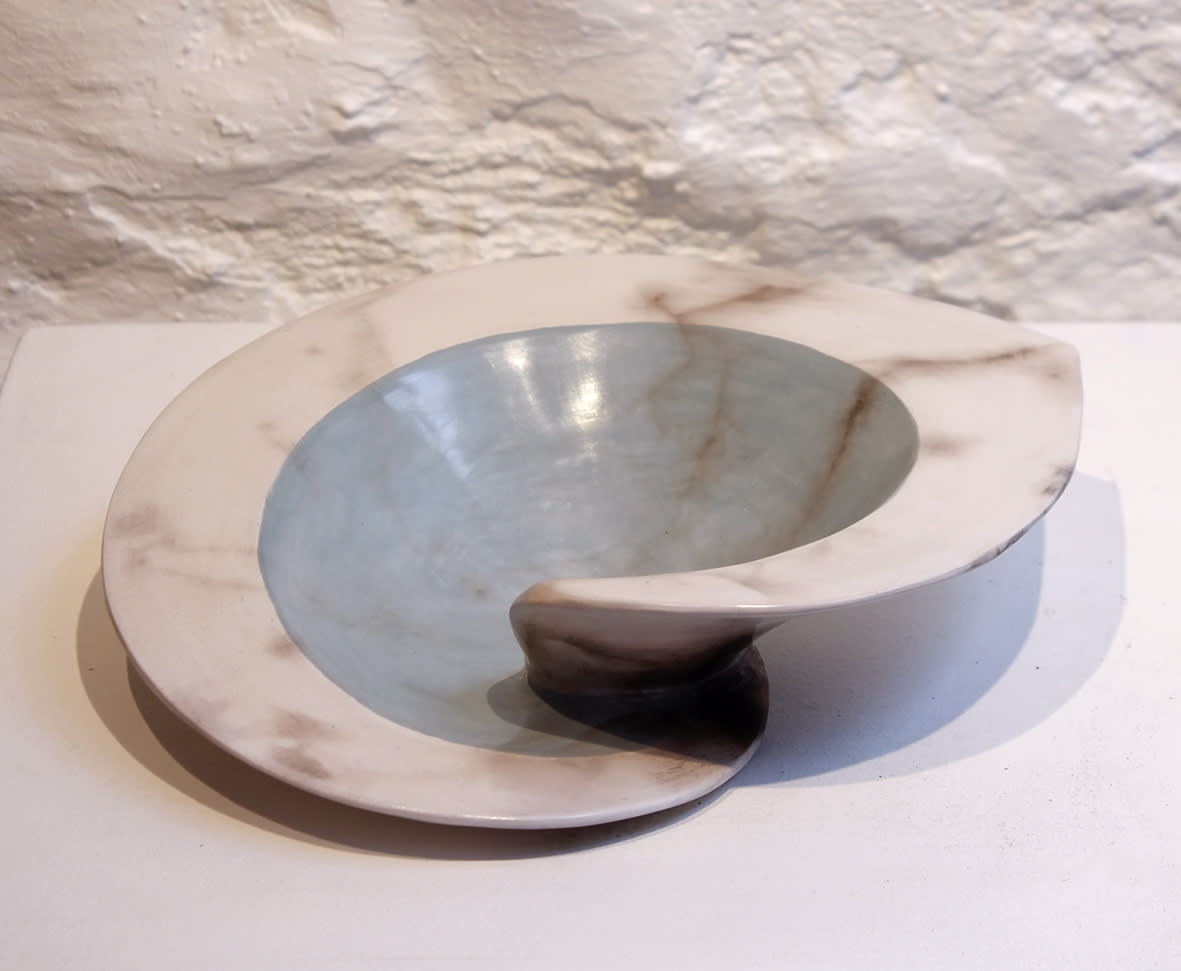"""<span class=""""link fancybox-details-link""""><a href=""""/artists/38-antonia-salmon/works/6049-antonia-salmon-dervish-bowl-green-2018/"""">View Detail Page</a></span><div class=""""artist""""><strong>Antonia Salmon</strong></div> b. 1959 <div class=""""title""""><em>Dervish Bowl Green</em>, 2018</div> <div class=""""signed_and_dated"""">stamped AS</div> <div class=""""medium"""">ceramic</div><div class=""""copyright_line"""">Copyright The Artist</div>"""