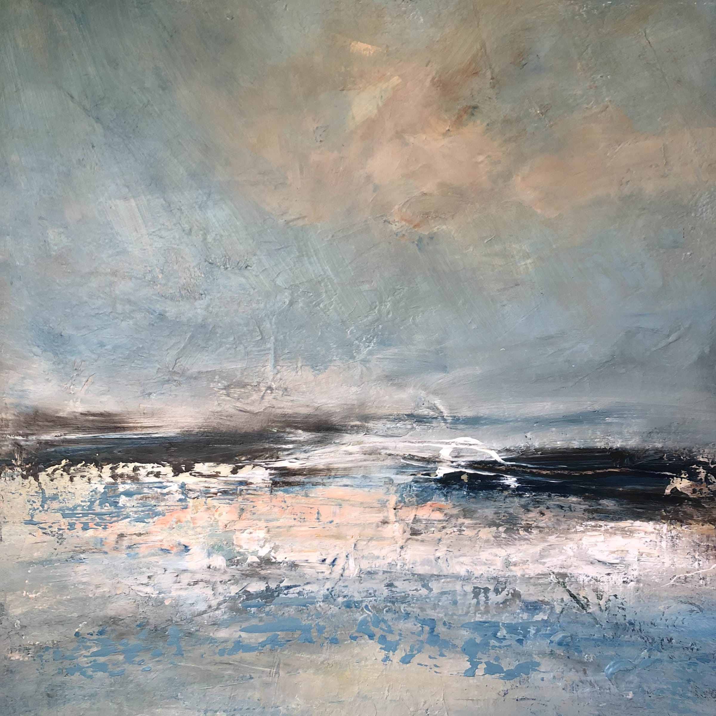 "<span class=""link fancybox-details-link""><a href=""/artists/41-erin-ward/works/7219-erin-ward-high-tide-2020/"">View Detail Page</a></span><div class=""artist""><strong>Erin Ward</strong></div> b. 1966 <div class=""title""><em>High Tide</em>, 2020</div> <div class=""medium"">acrylic on canvas</div> <div class=""dimensions"">h. 76 cm x w. 76 cm</div><div class=""price"">£1,500.00</div><div class=""copyright_line"">Ownart: £150 x 10 Months, 0% APR</div>"