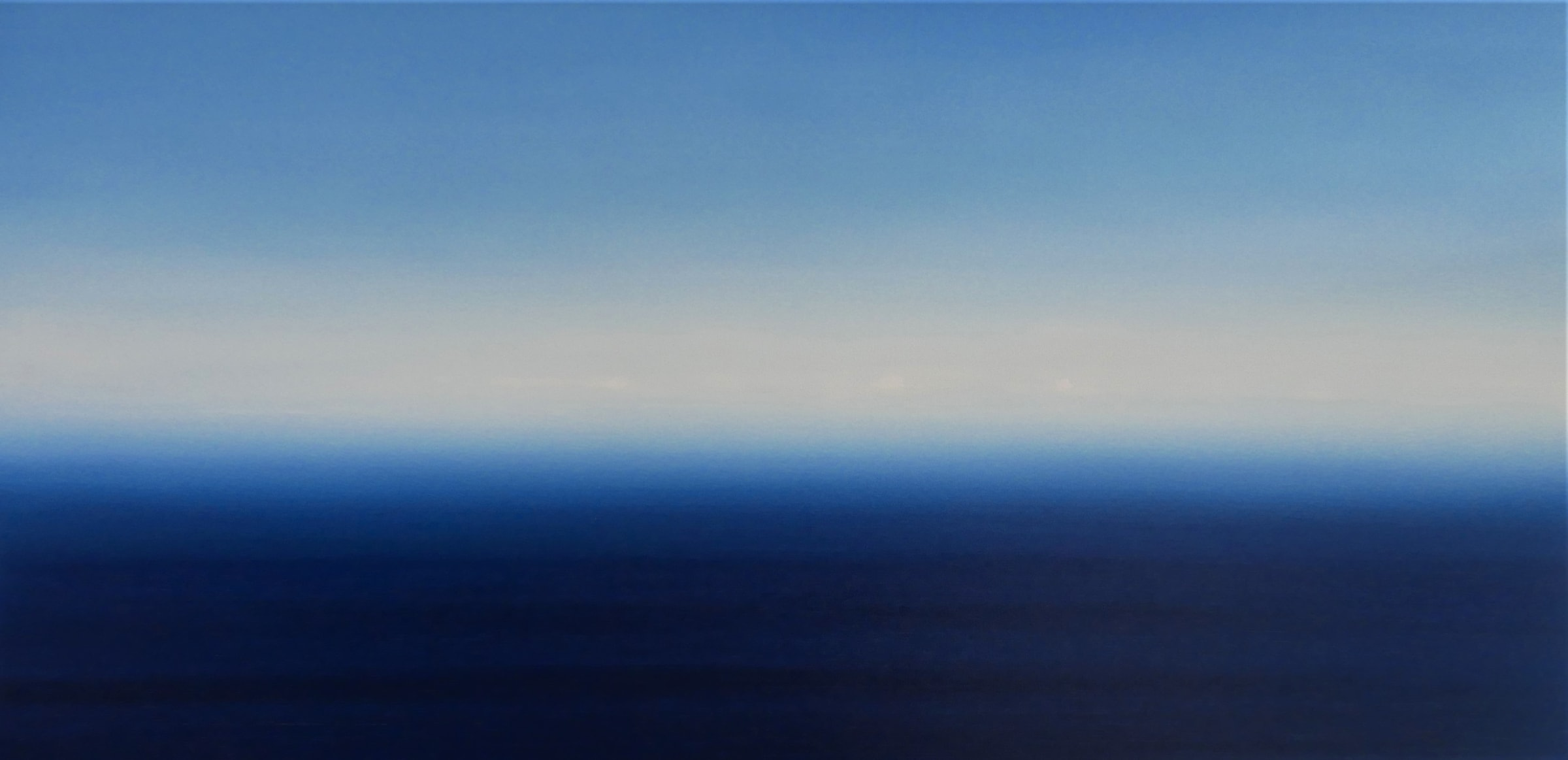 """<span class=""""link fancybox-details-link""""><a href=""""/artists/78-martyn-perryman/works/7324-martyn-perryman-calming-skies-st-ives-2-2020/"""">View Detail Page</a></span><div class=""""artist""""><strong>Martyn Perryman</strong></div> b. 1963 <div class=""""title""""><em>Calming Skies St Ives 2</em>, 2020</div> <div class=""""medium"""">oil on Canvas</div> <div class=""""dimensions"""">h. 70 cm x w. 140 cm</div><div class=""""copyright_line"""">Own Art £120 x 10 months, 0% APR</div>"""