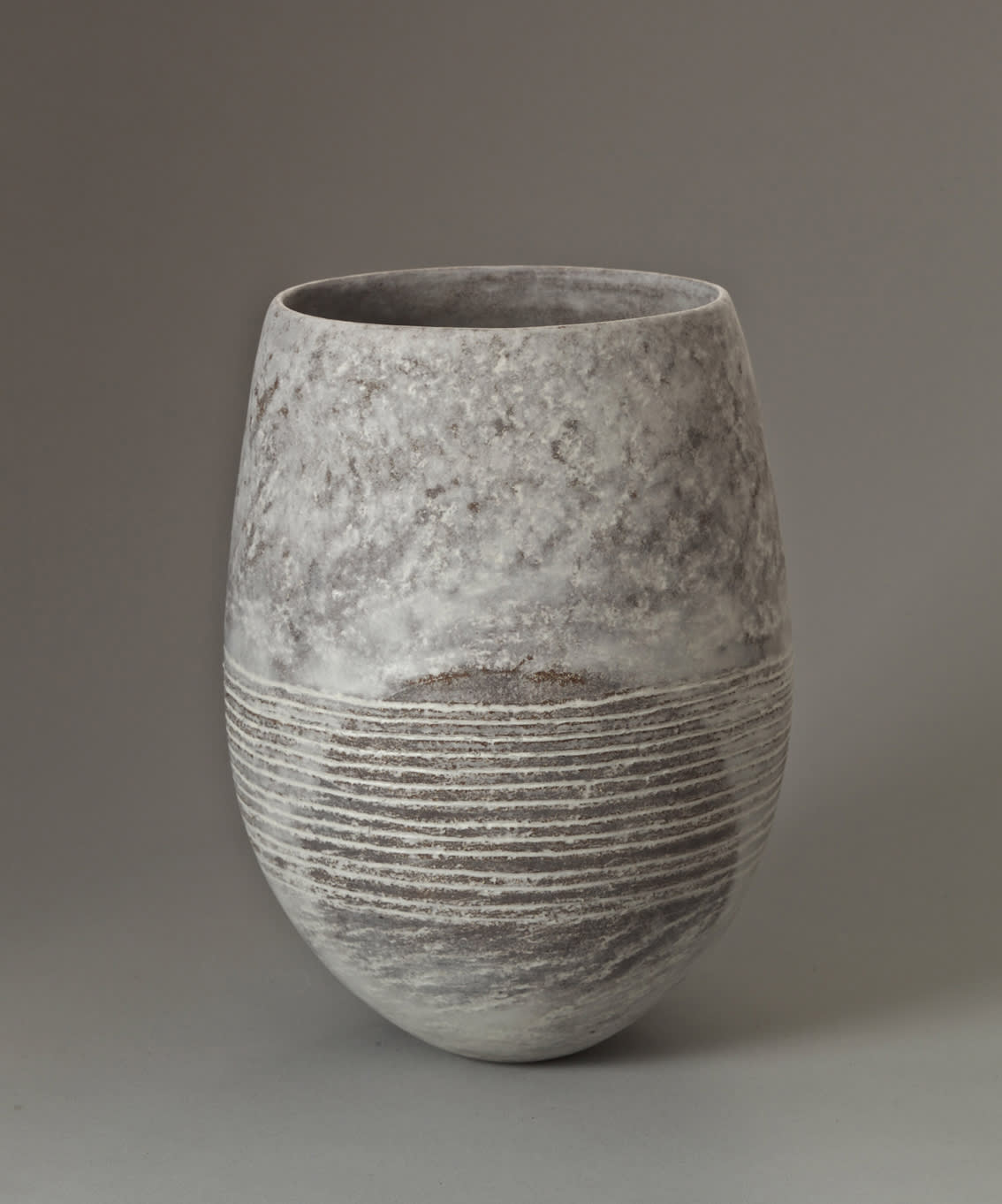 """<span class=""""link fancybox-details-link""""><a href=""""/content/feature/35/artworks8052/"""">View Detail Page</a></span><div class=""""signed_and_dated"""">signed to the base</div> <div class=""""medium"""">stoneware with porcelain slip</div> <div class=""""dimensions"""">h. 28 cm x w. 19 cm x d. 16 cm</div>"""